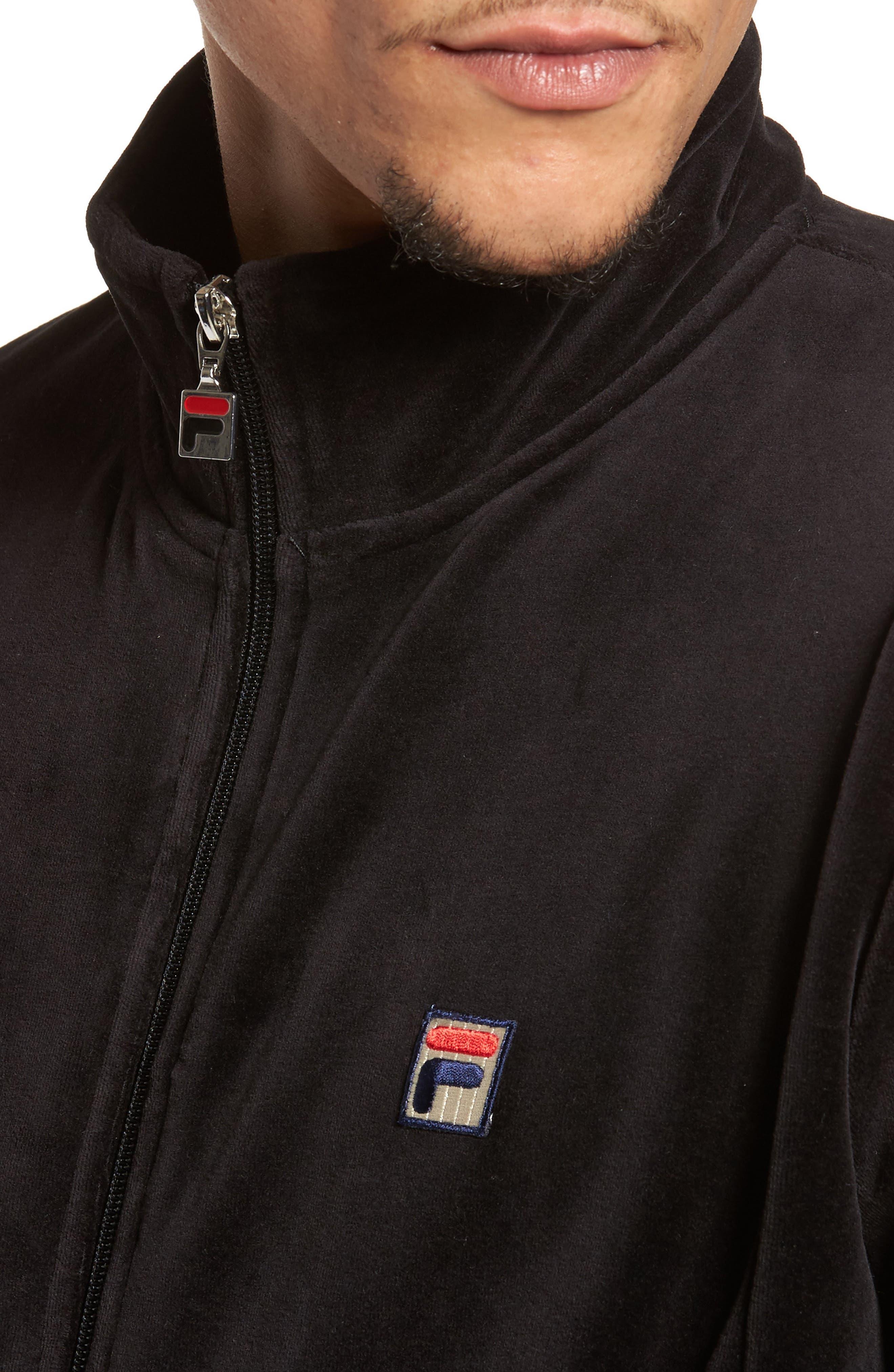 Alternate Image 4  - FILA Velour Jacket