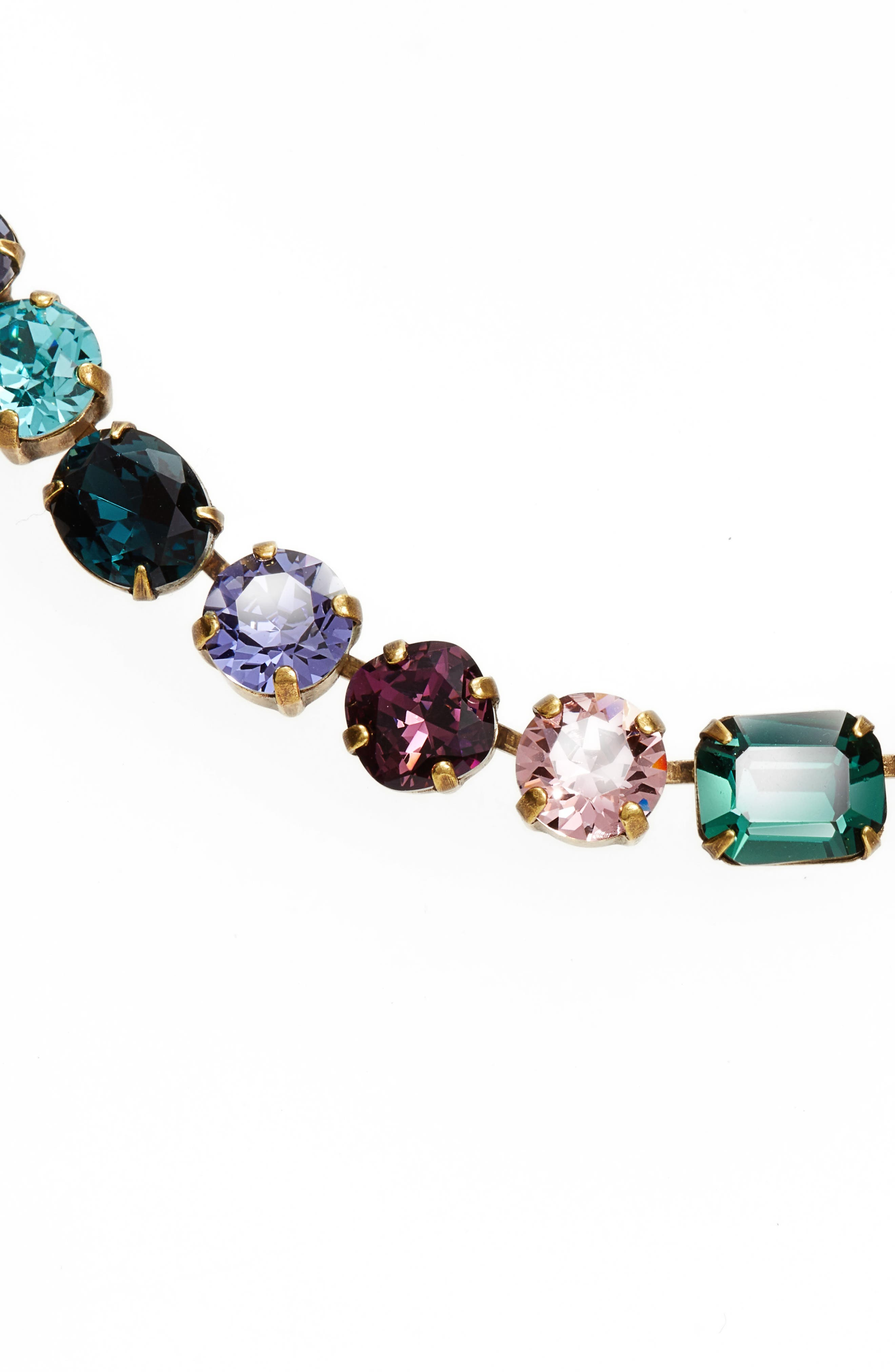 Alternate Image 2  - Sorrelli Tansy Line Crystal Necklace
