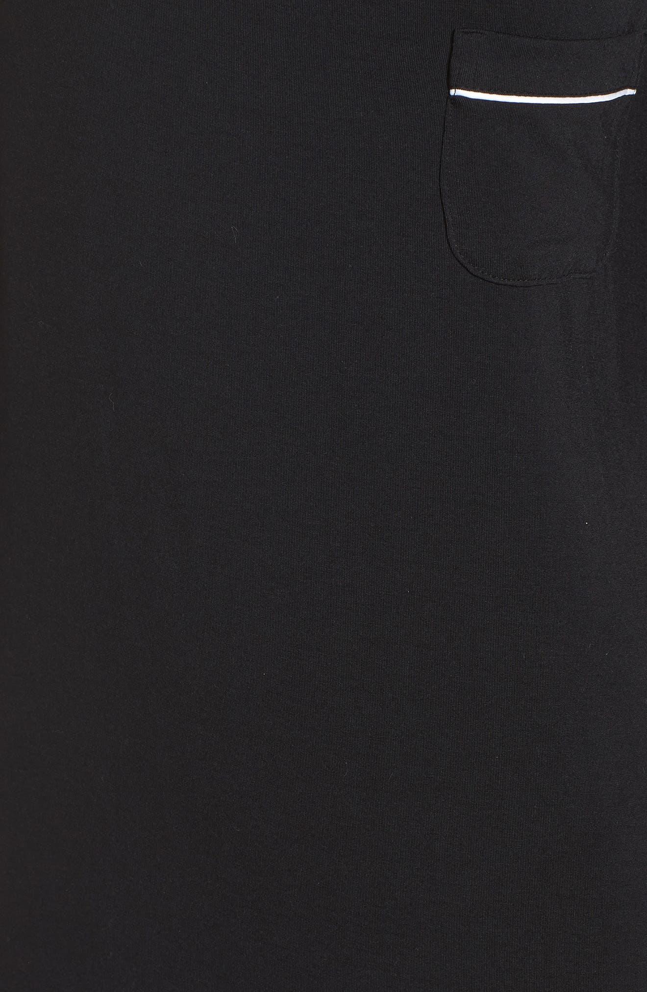 Moonlight Nightshirt,                             Alternate thumbnail 5, color,                             Black