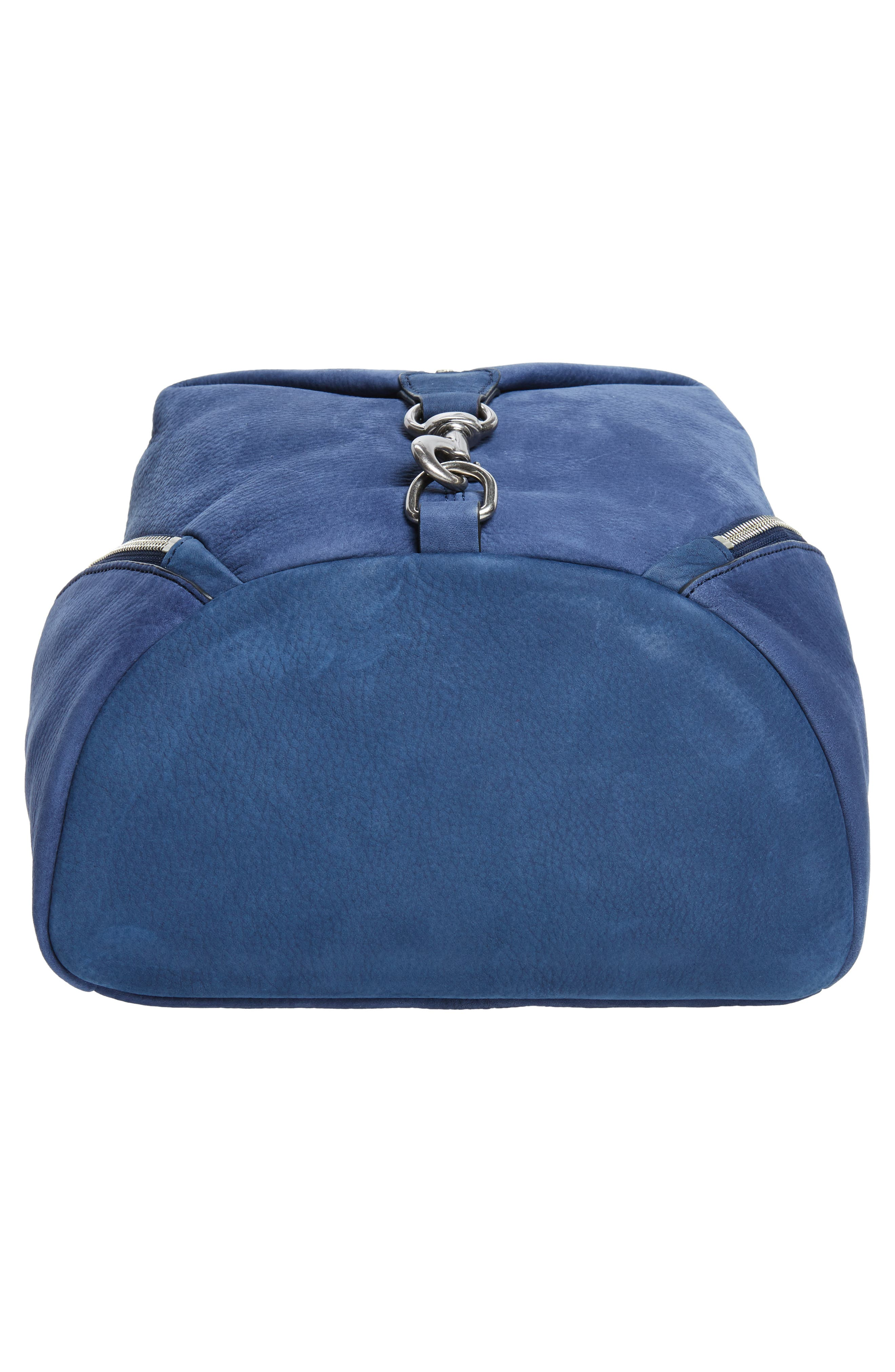 Alternate Image 6  - Rebecca Minkoff Julian Convertible Nubuck Leather Backpack