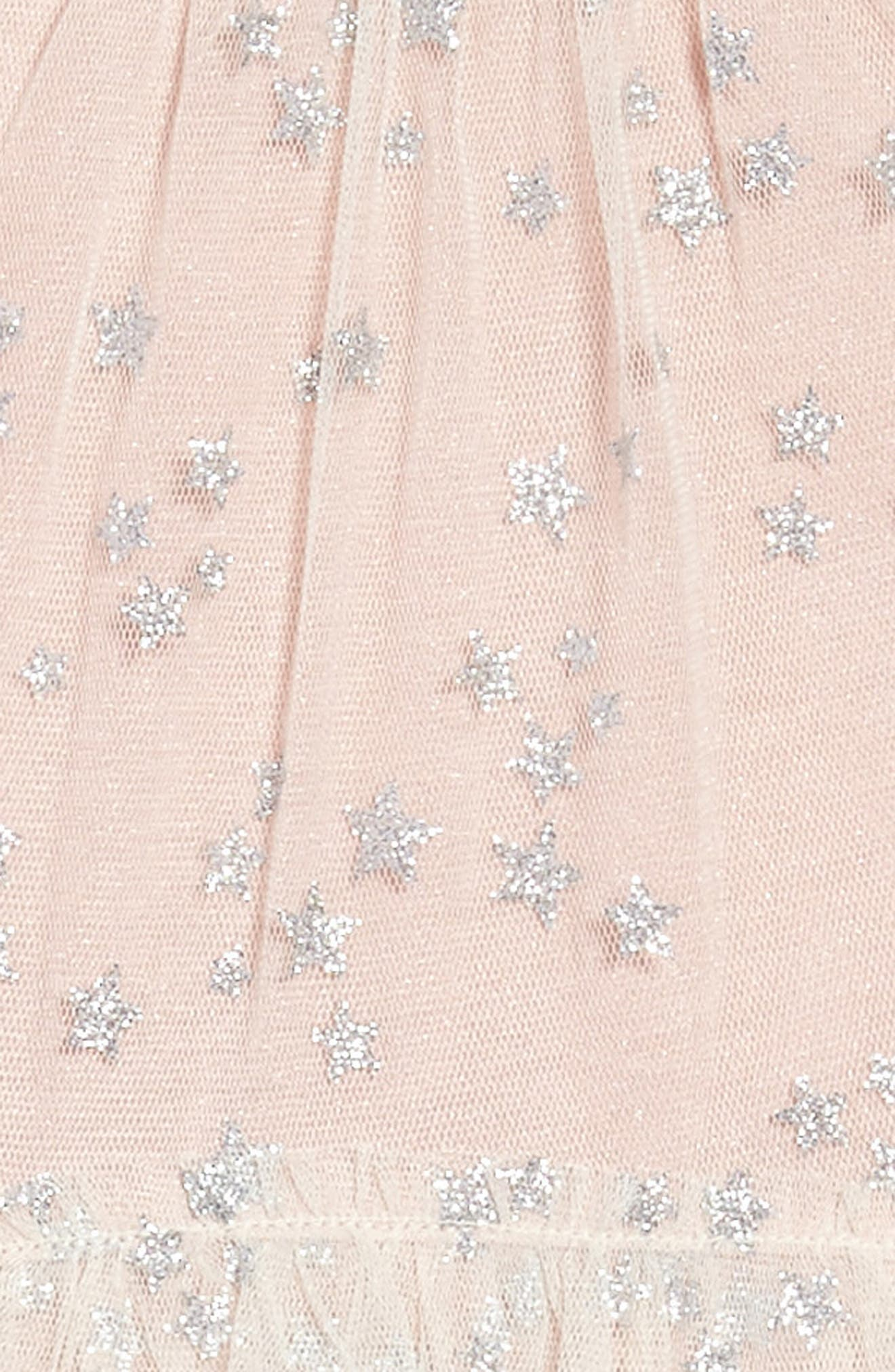 Alternate Image 3  - Truly Me Mesh Star Dress (Toddler Girls & Little Girls)
