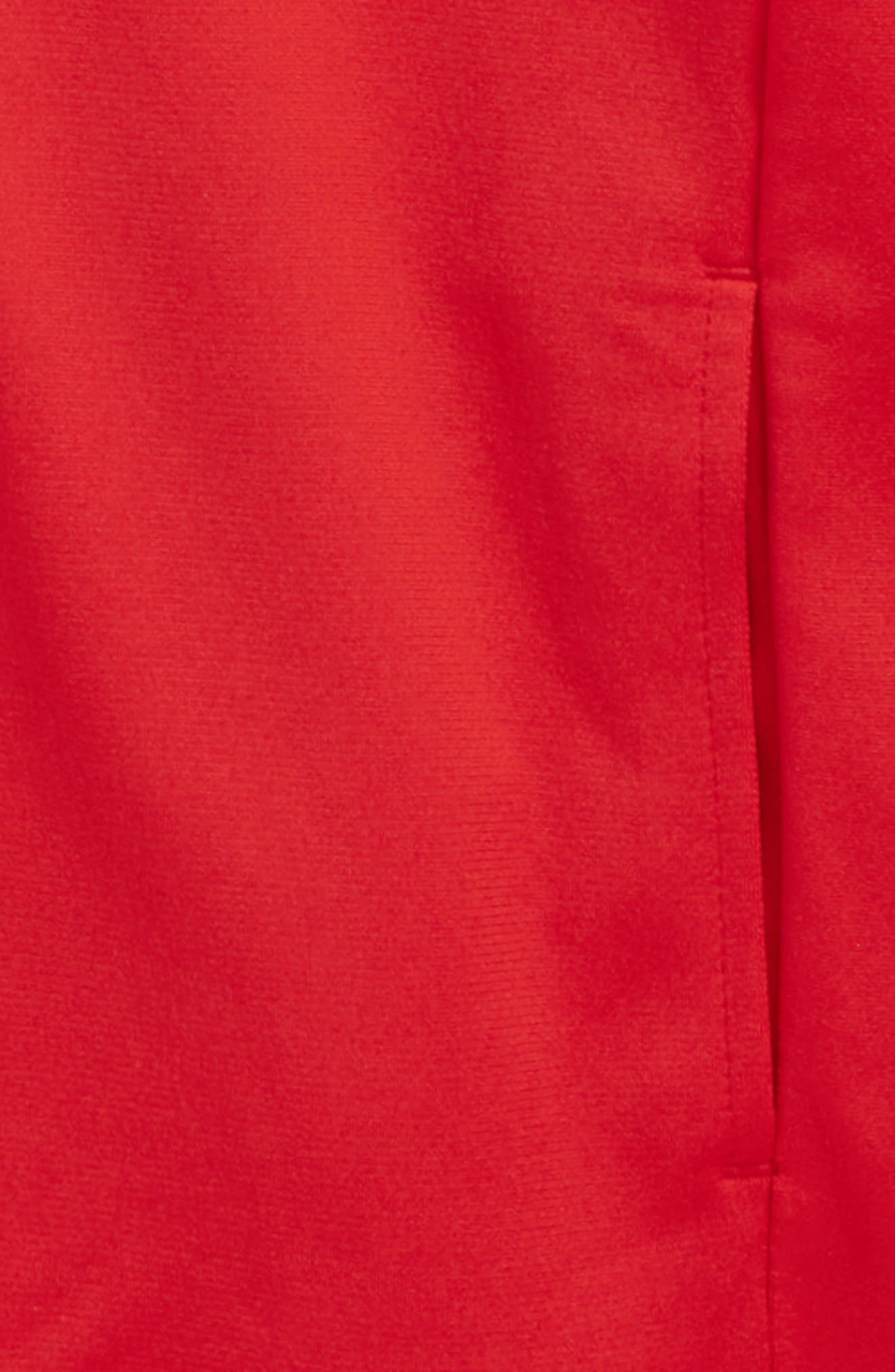 'Pennant' Warm Up Jacket,                             Alternate thumbnail 2, color,                             Red/ Black