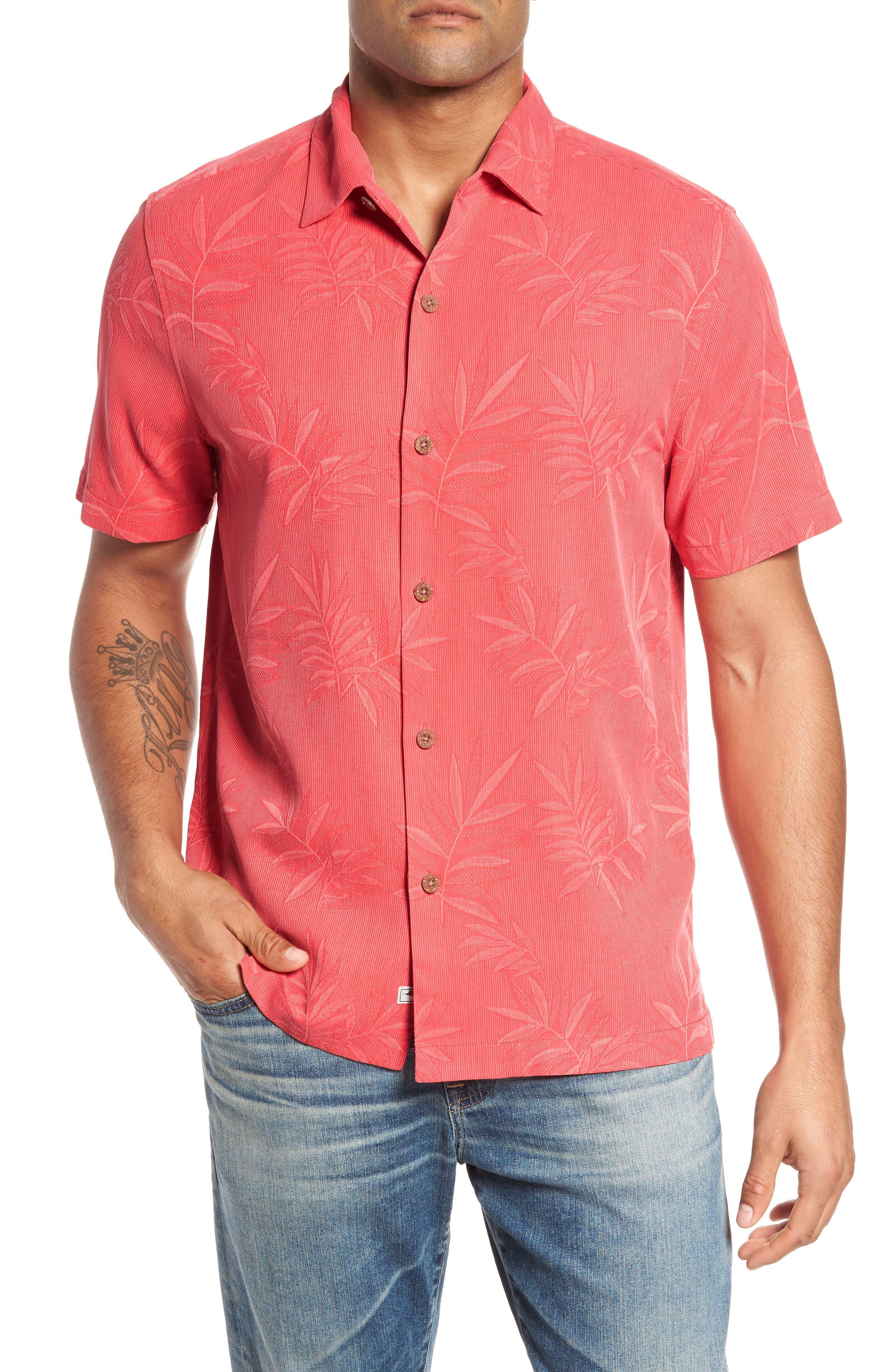 Tommy Bahama Beachwears LUAU FLORAL SILK SHIRT