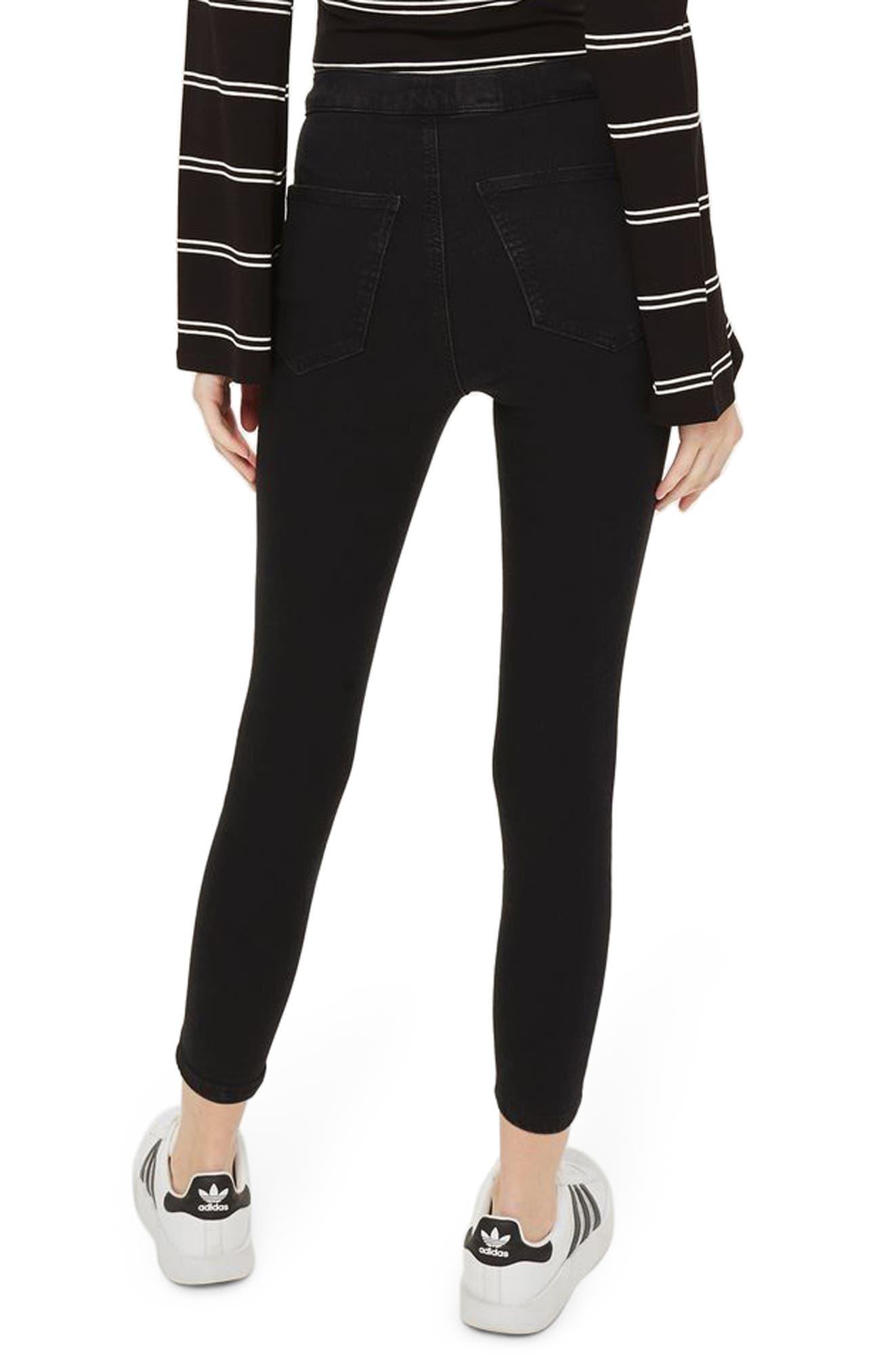 Alternate Image 2  - Topshop Joni High Waist Crop Skinny Jeans (Petite)