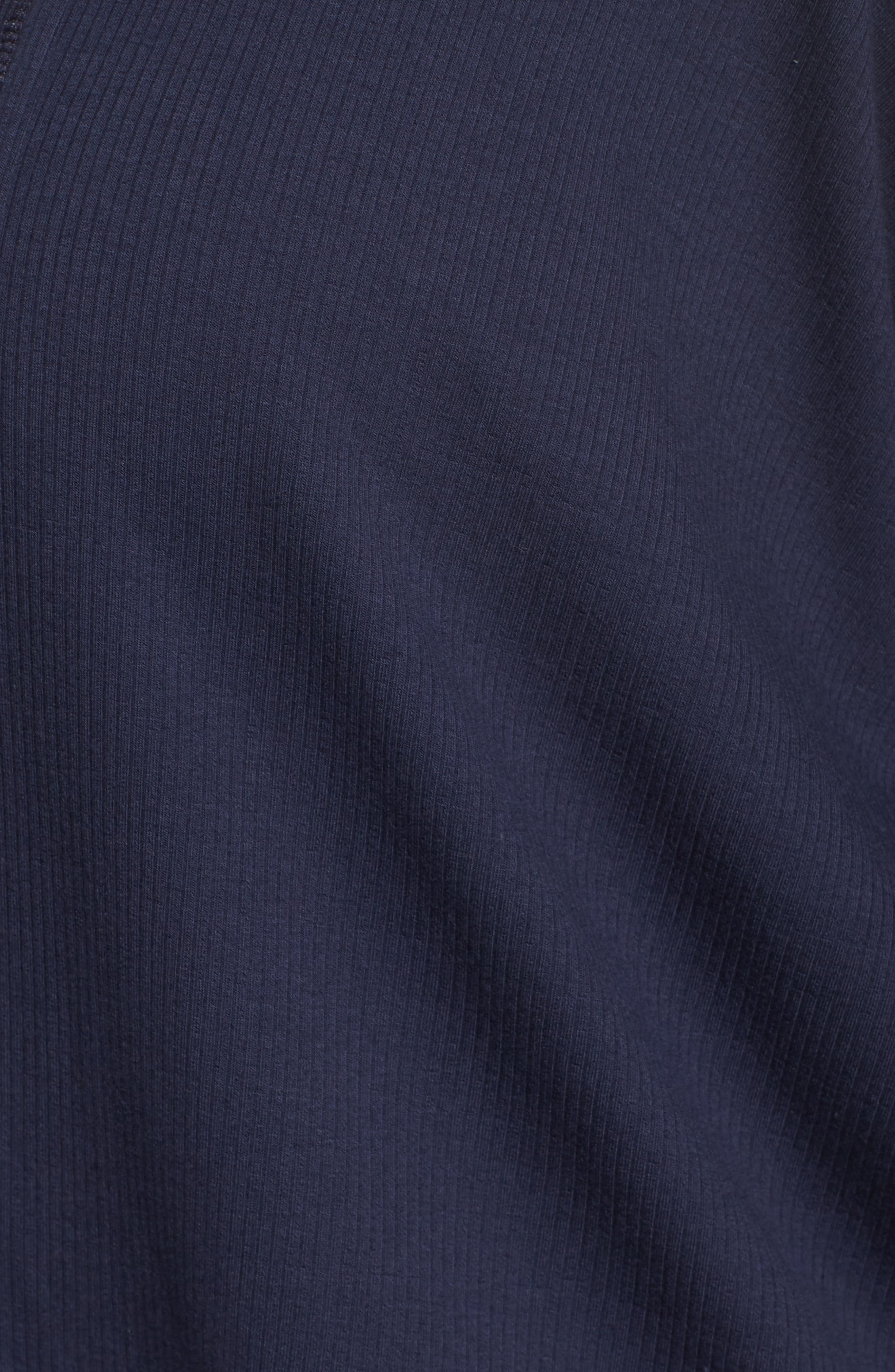 Ribbed Cocoon Cardigan,                             Alternate thumbnail 5, color,                             Navy Peacoat