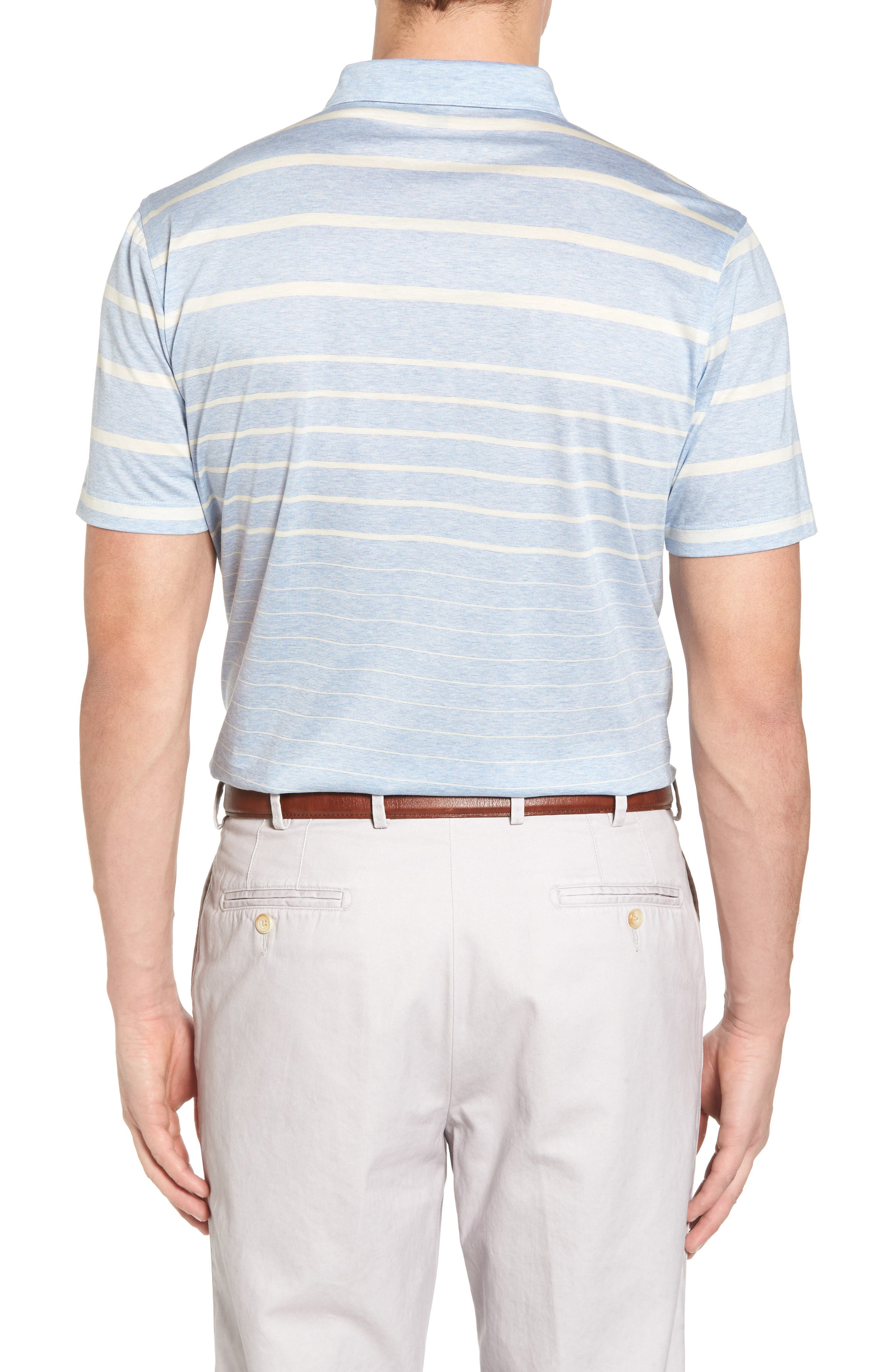 Alternate Image 2  - Peter Millar Collection Summer Swells Stripe Polo