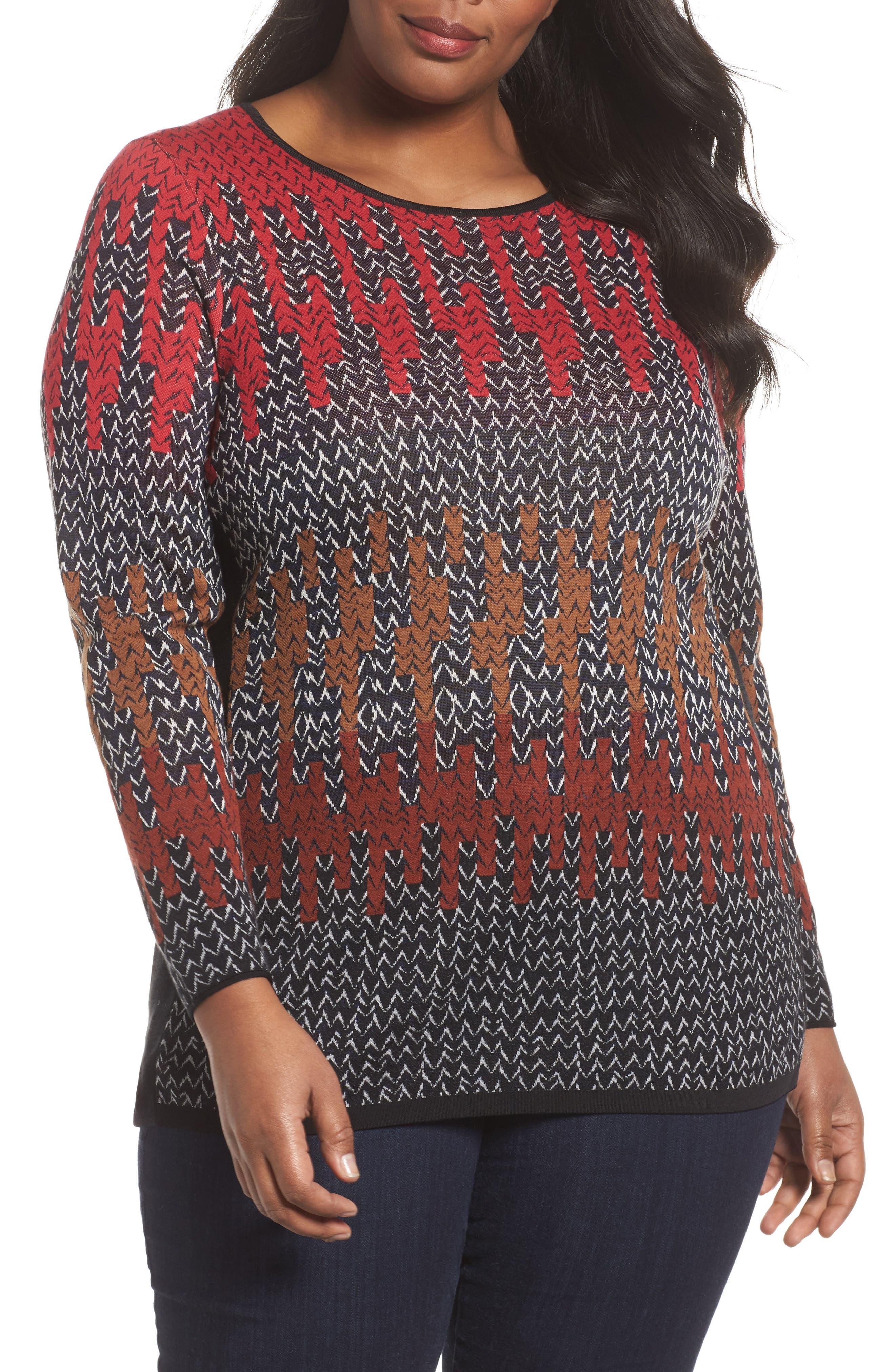 Sunset Sweater,                             Main thumbnail 1, color,                             Multi