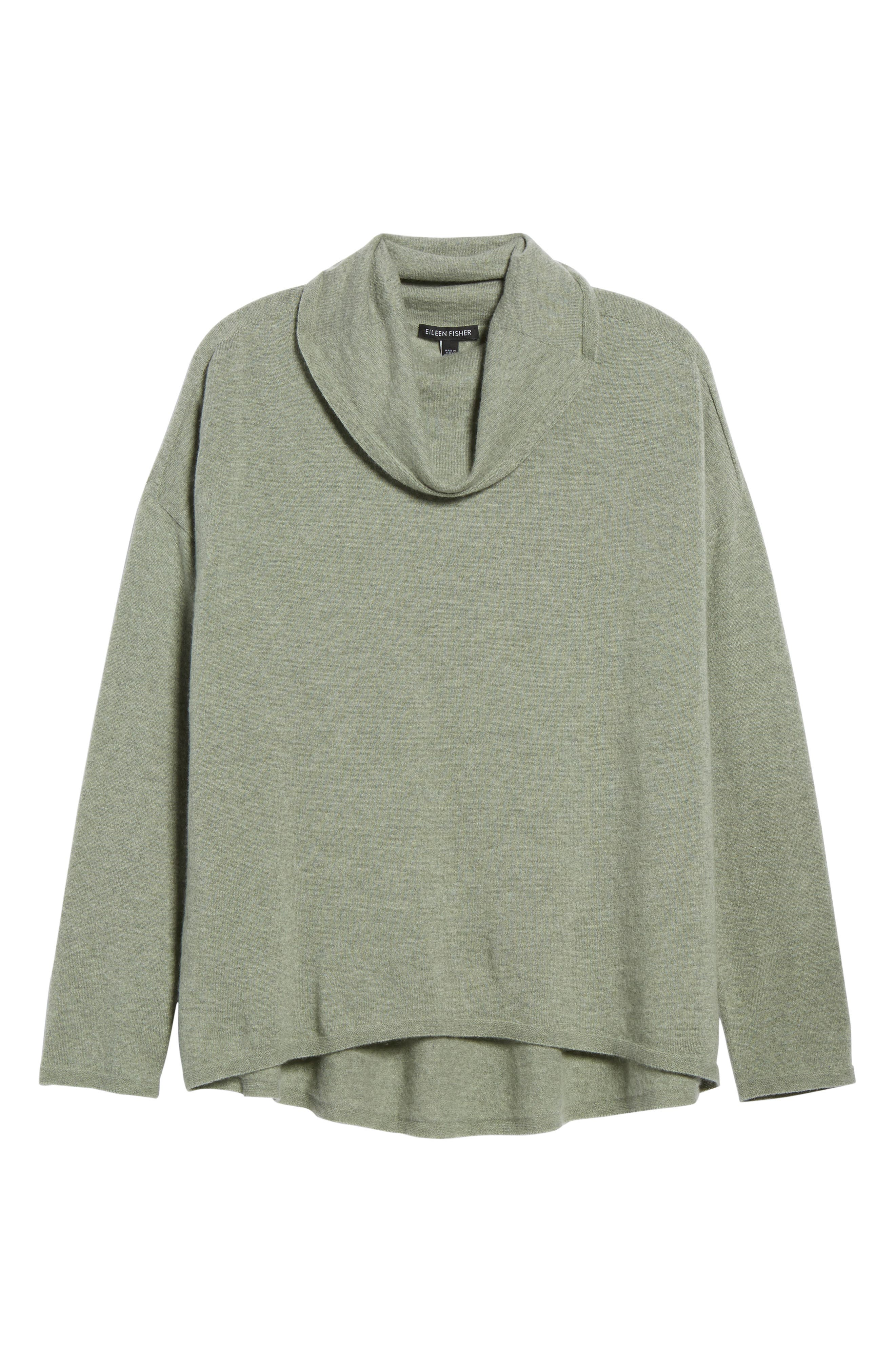 Alternate Image 6  - Eileen Fisher Boxy Cashmere Sweater
