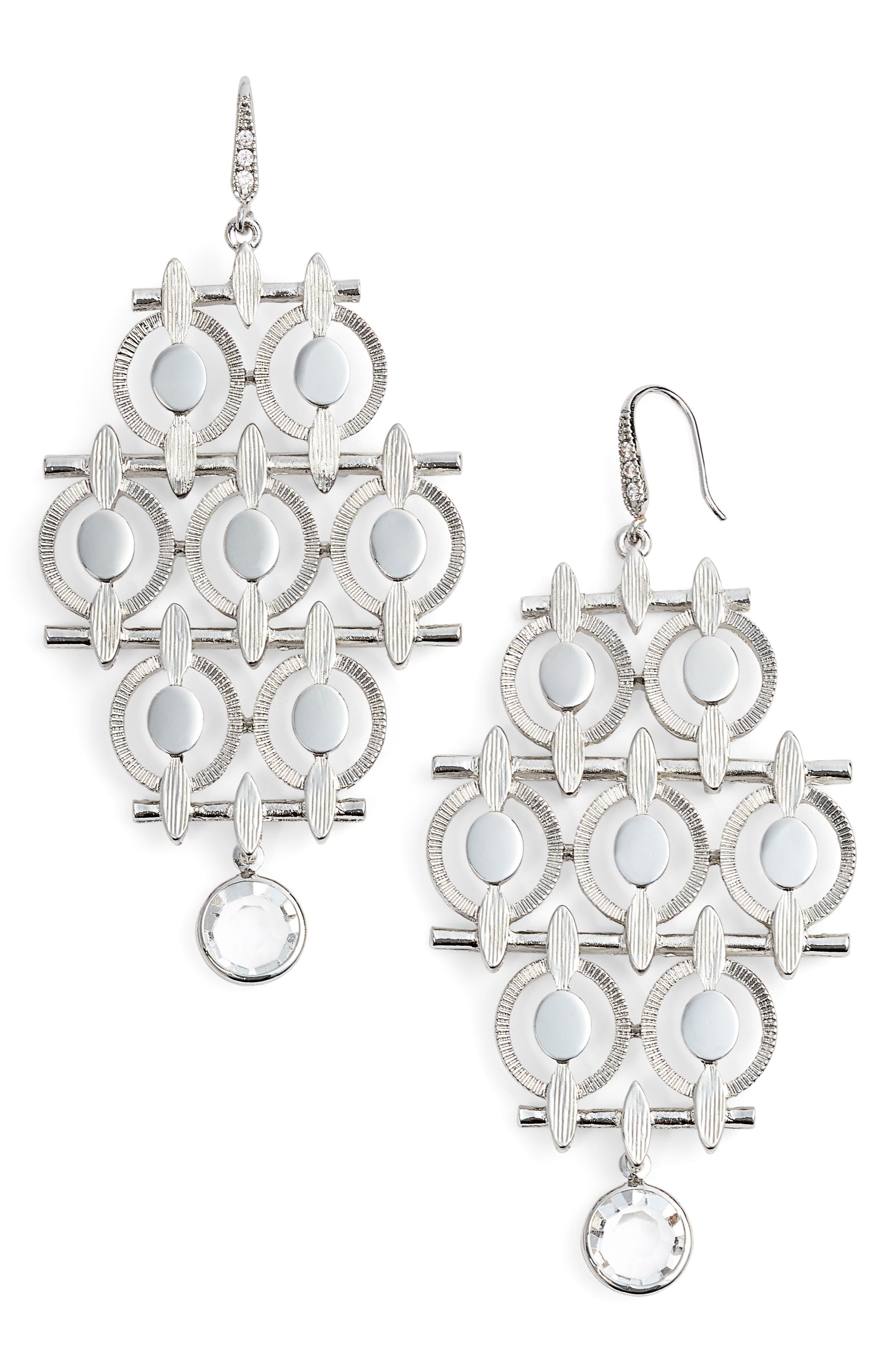 Main Image - Badgley Mischka Chandelier Drop Earrings