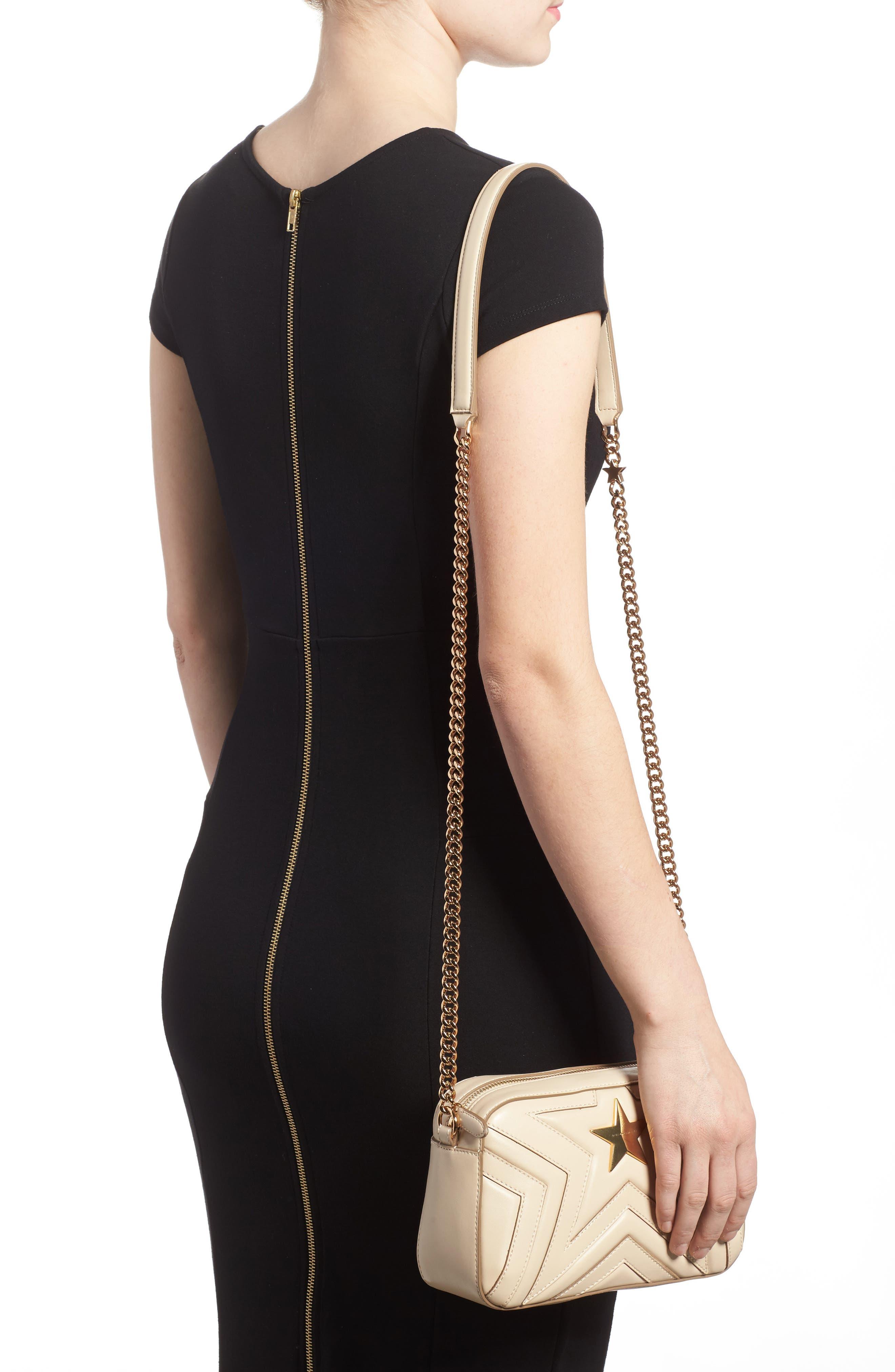 Alter Nappa Faux Leather Shoulder Bag,                             Alternate thumbnail 2, color,                             Cream