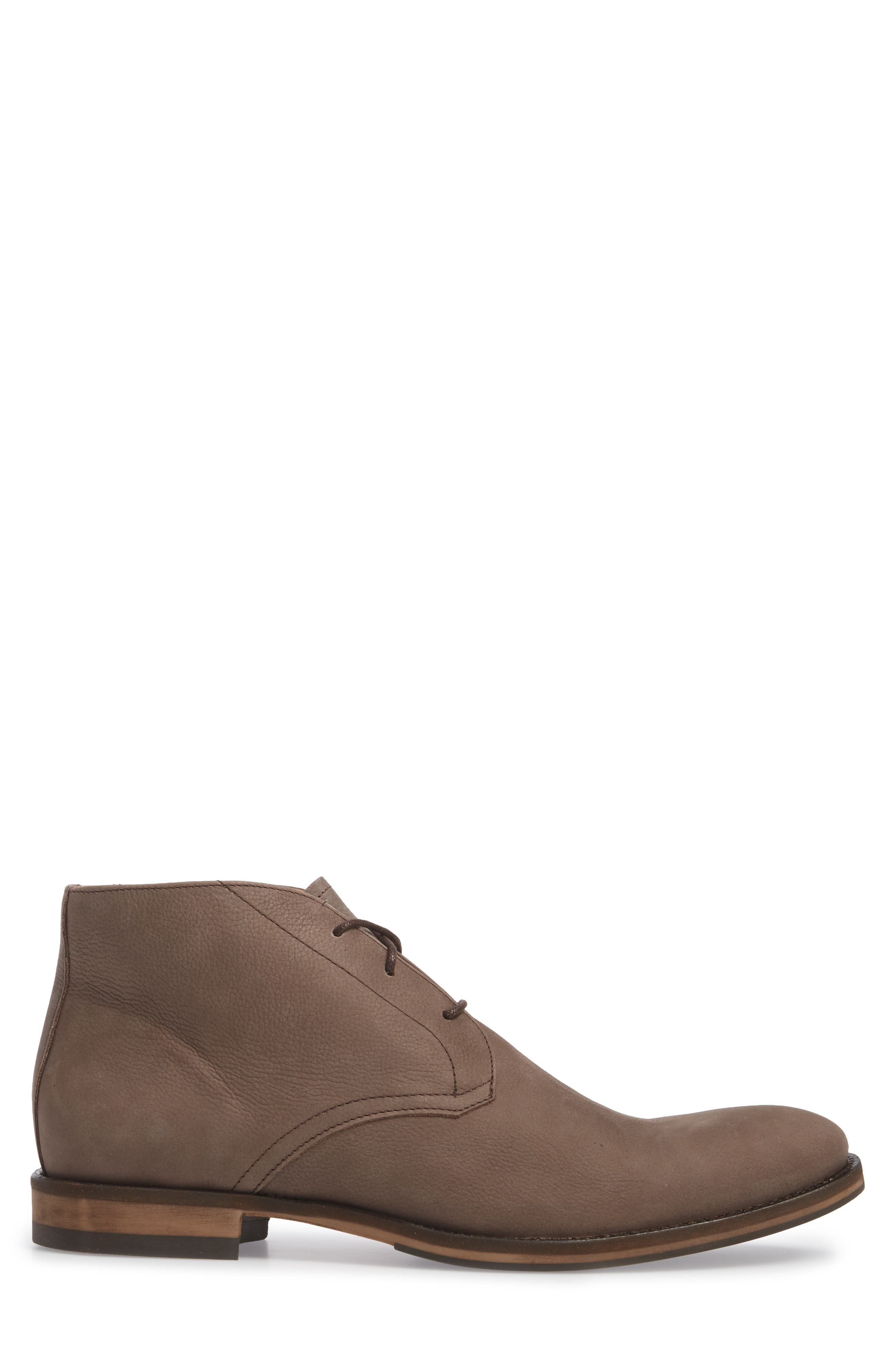 Barber Road Chukka Boot,                             Alternate thumbnail 3, color,                             Tobacco Leather