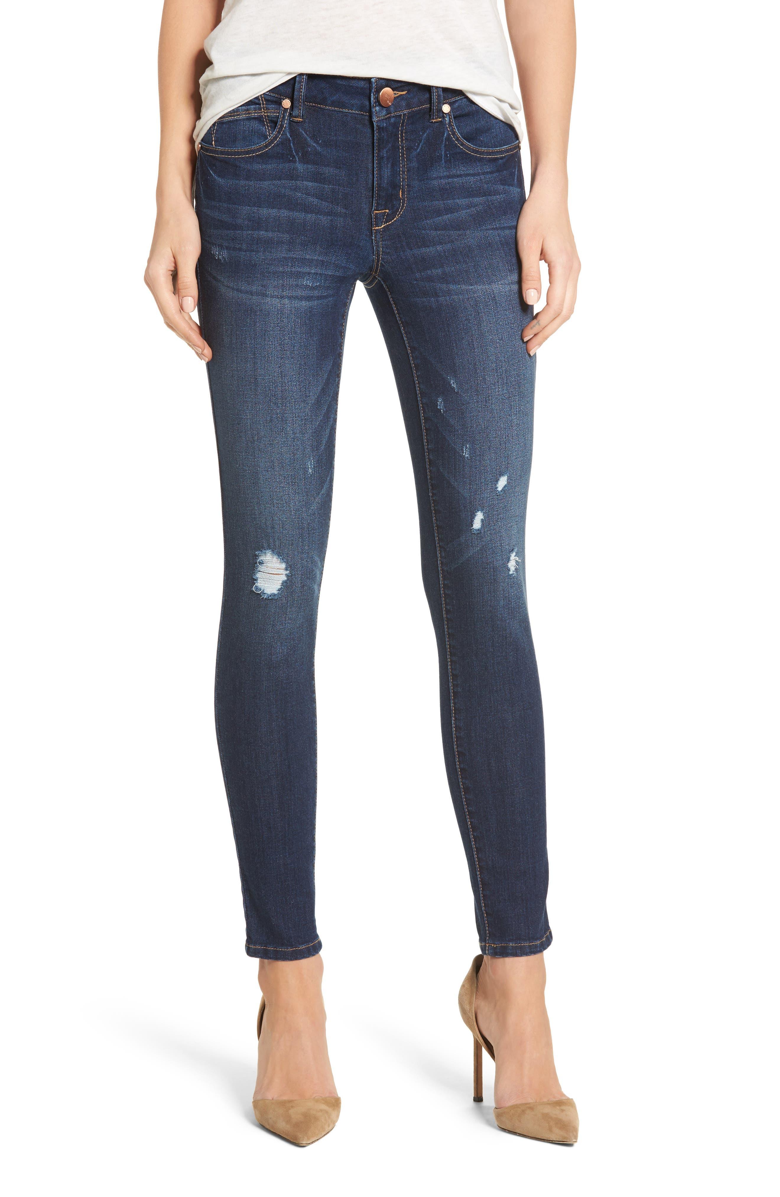 1822 Denim Ripped Skinny Jeans (New York)