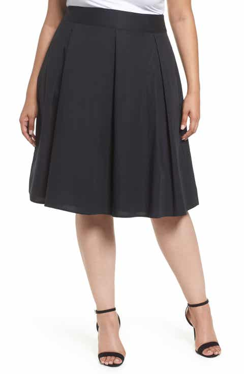 Rebel Wilson x Angels Pleat Full Skirt (Plus Size)