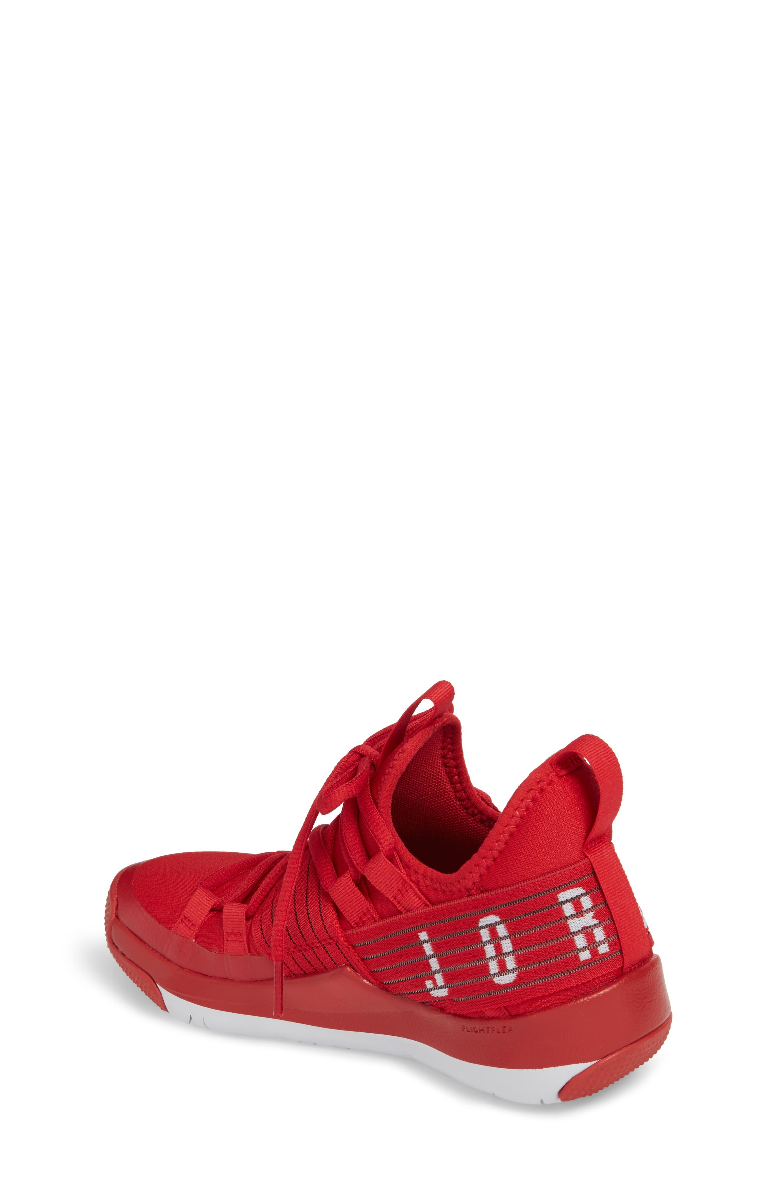Trainer Pro Training Shoe,                             Alternate thumbnail 2, color,                             Gym Red/ Pure Platinum