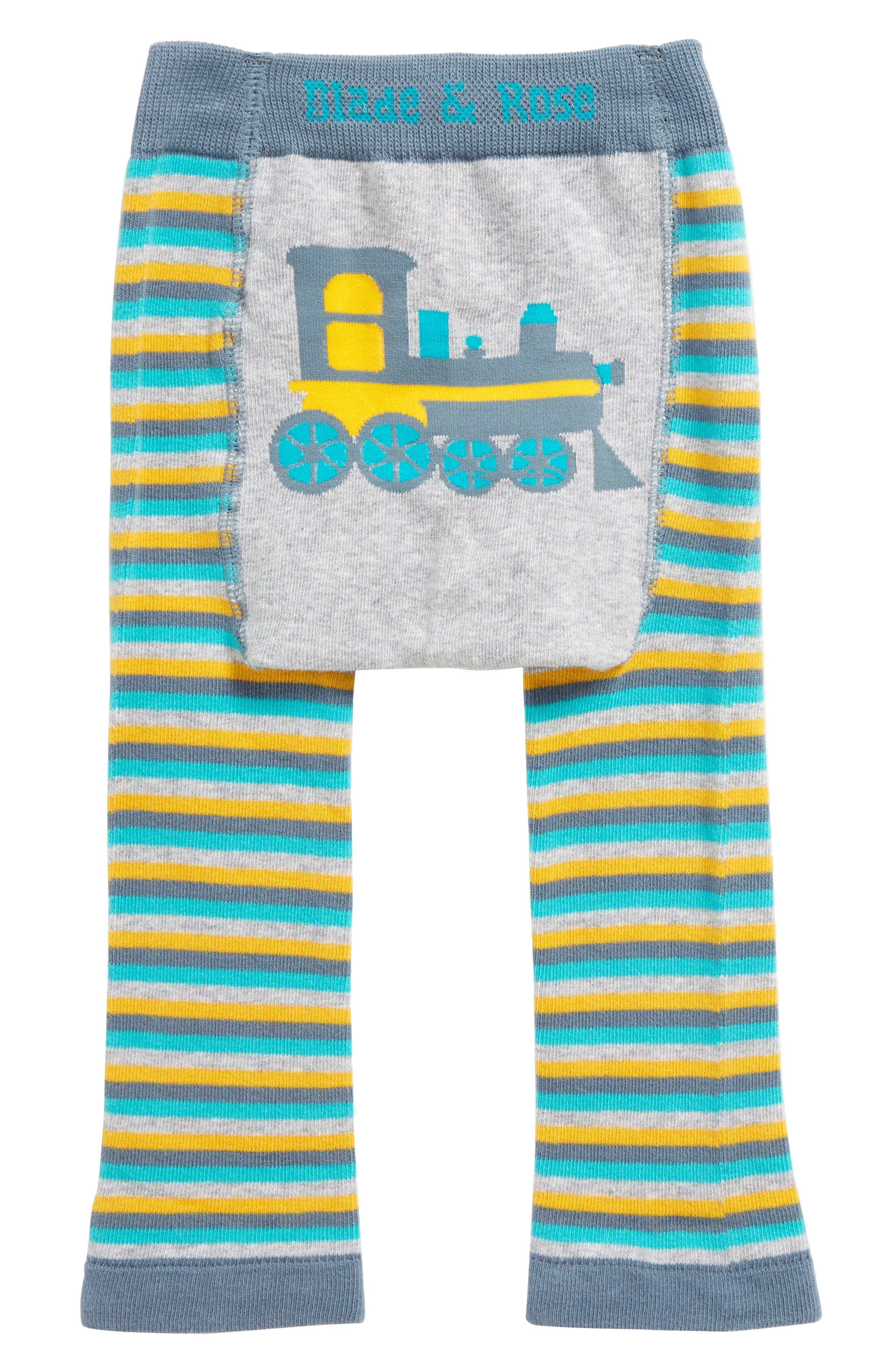 Train Leggings,                         Main,                         color, Grey / Yellow / Blue