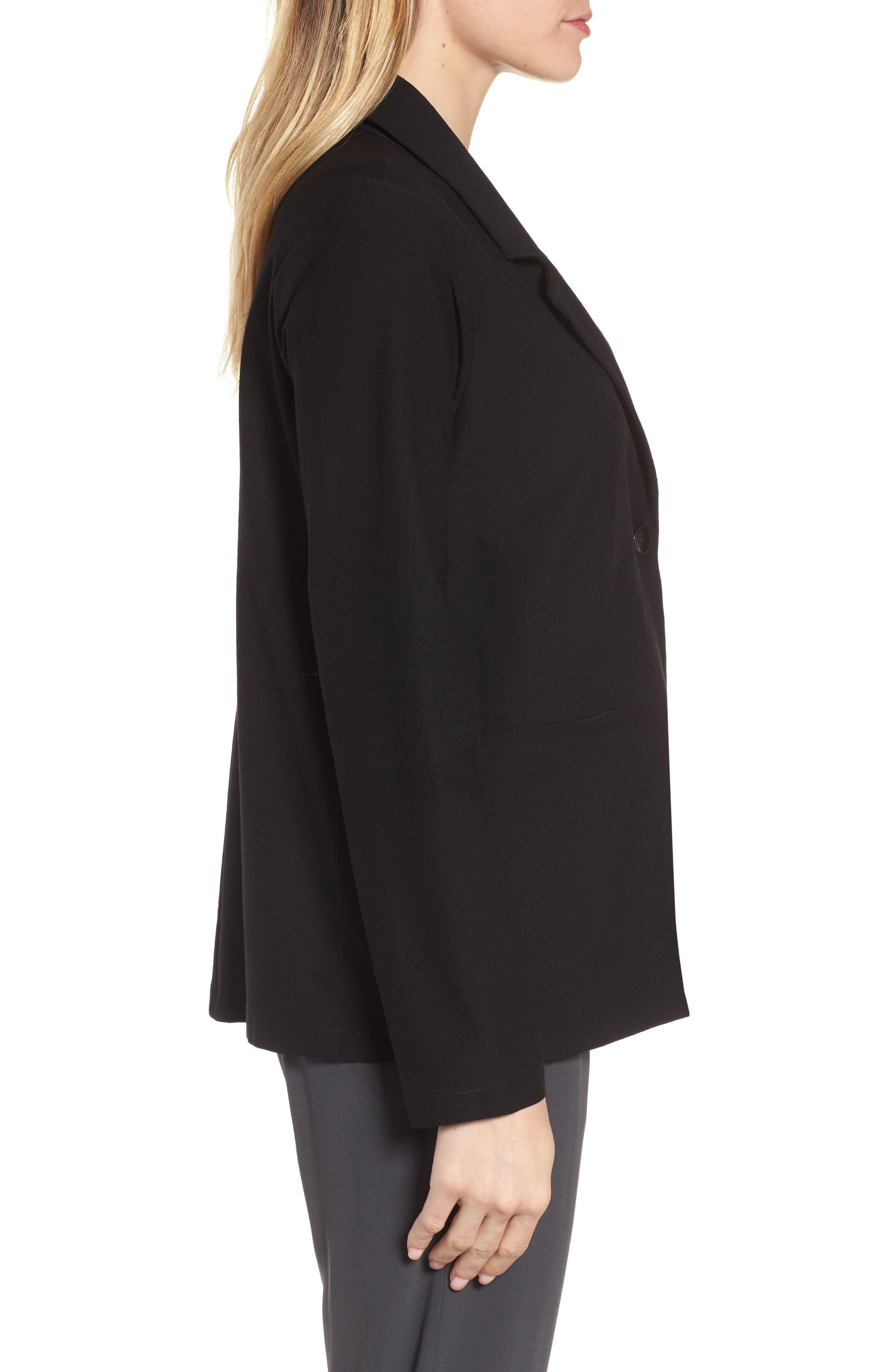 Alternate Image 3  - Eileen Fisher Notch Collar Boxy Jacket