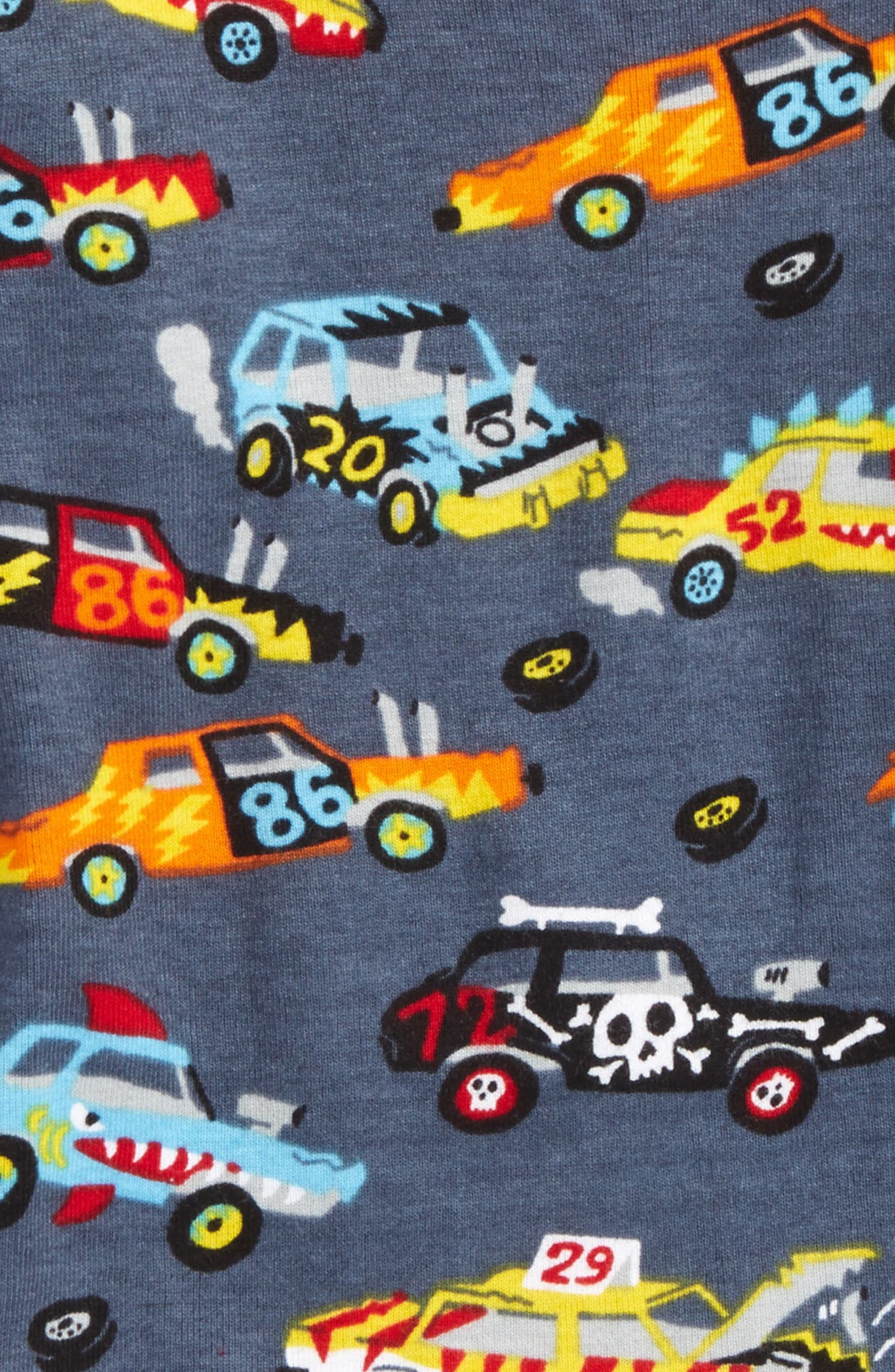 Alternate Image 2  - Hatley Organic Cotton Fitted Two-Piece Pajamas (Toddler Boys, Little Boys & Big Boys)