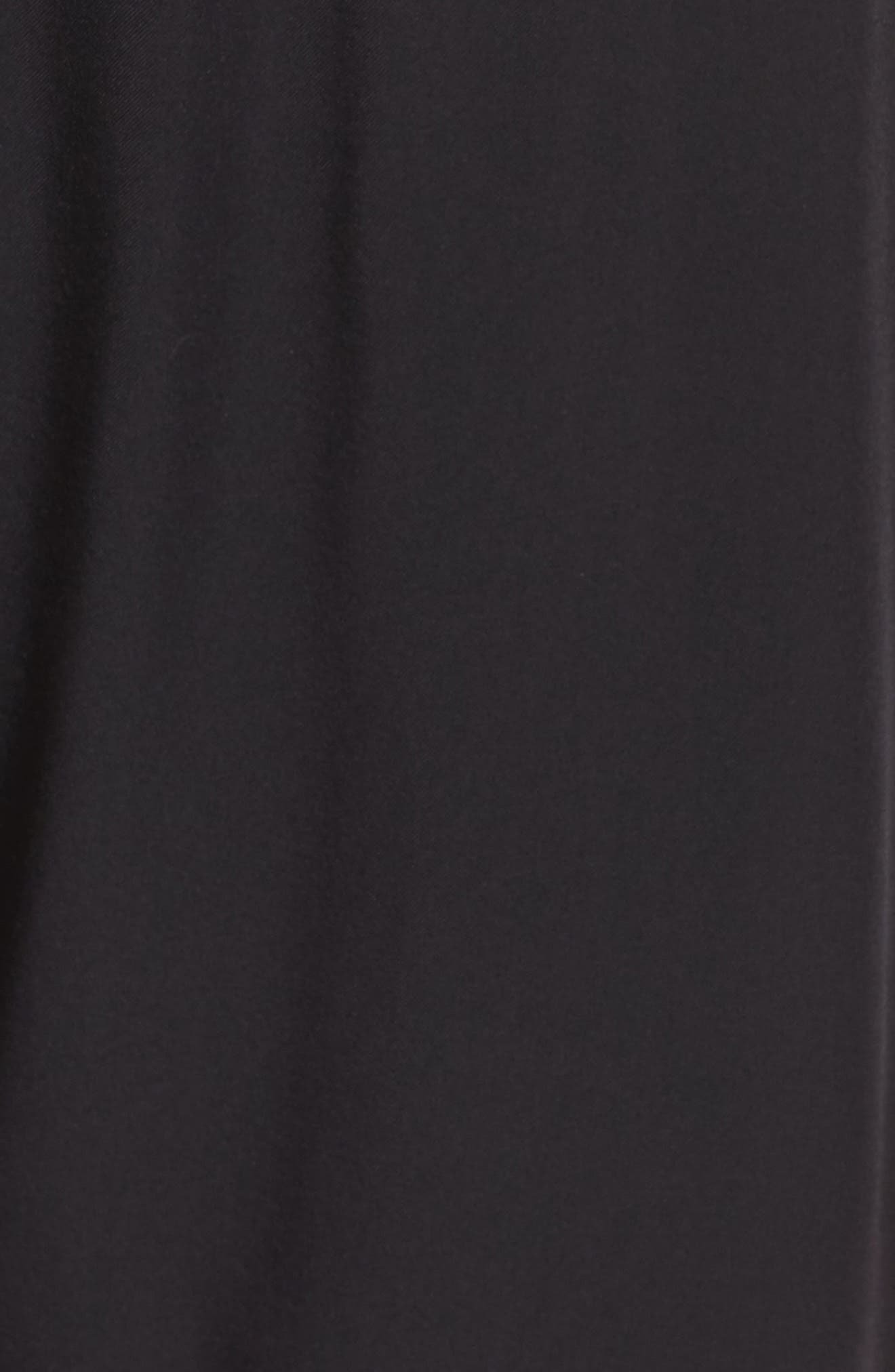 NikeLab Stretch Woven Training Pants,                             Alternate thumbnail 6, color,                             Black/ Black