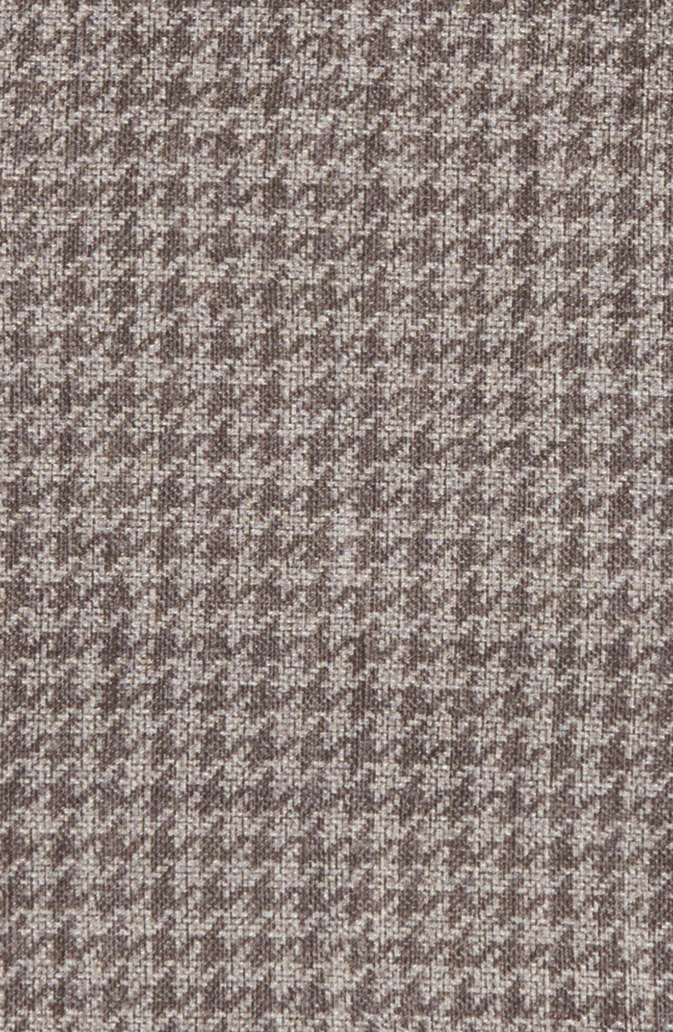 Alternate Image 3  - Eleventy Houndstooth Wool & Cotton Pocket Square