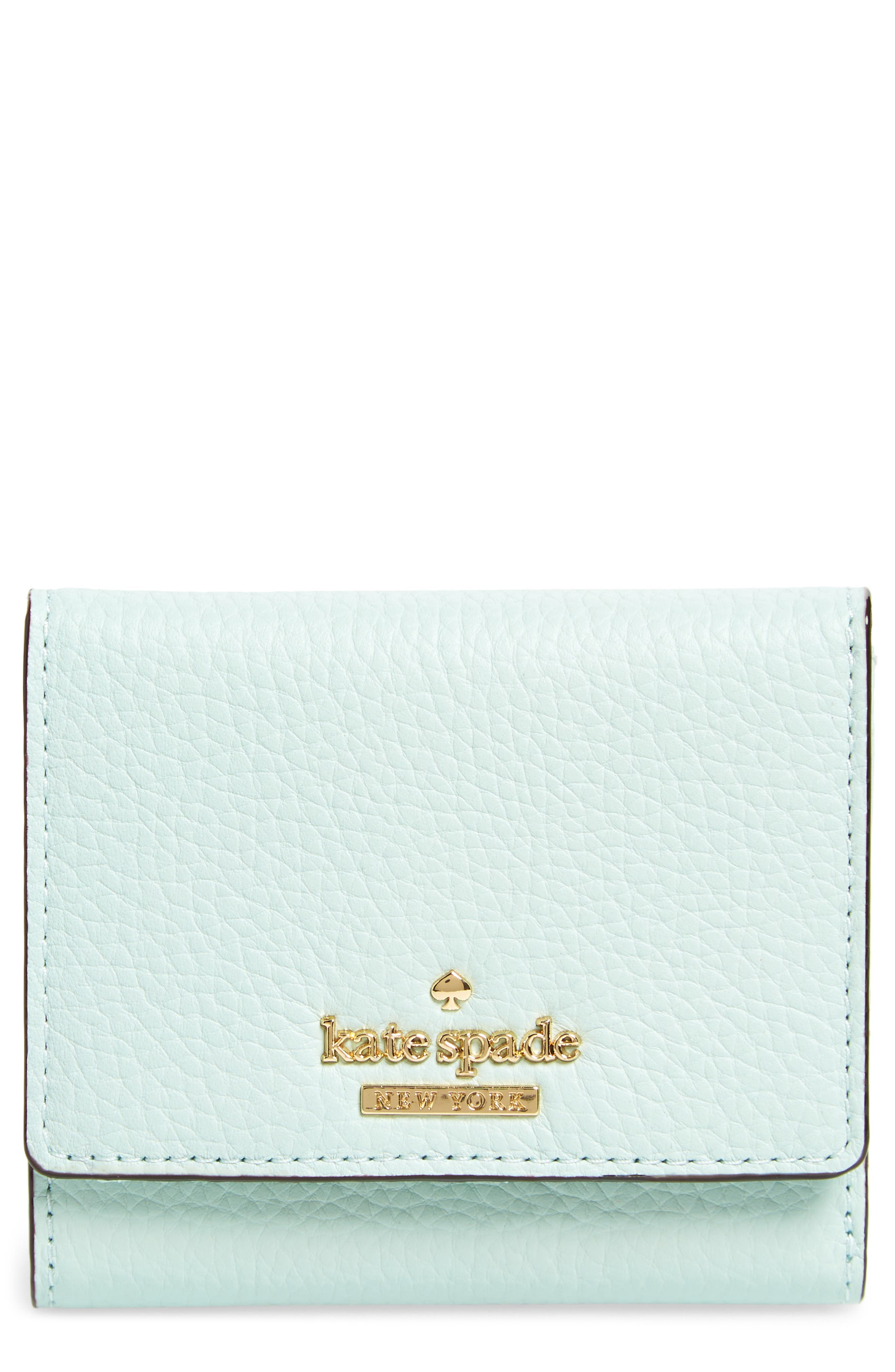 jackson street jada leather wallet,                         Main,                         color, Misty Mint