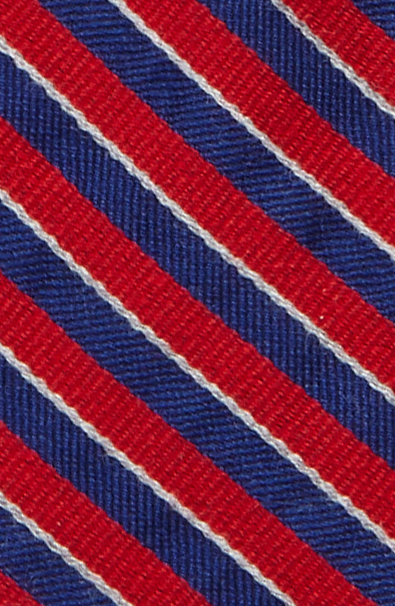 Alternate Image 2  - Nordstrom Stripe Wool & Silk Tie (Big Boys)