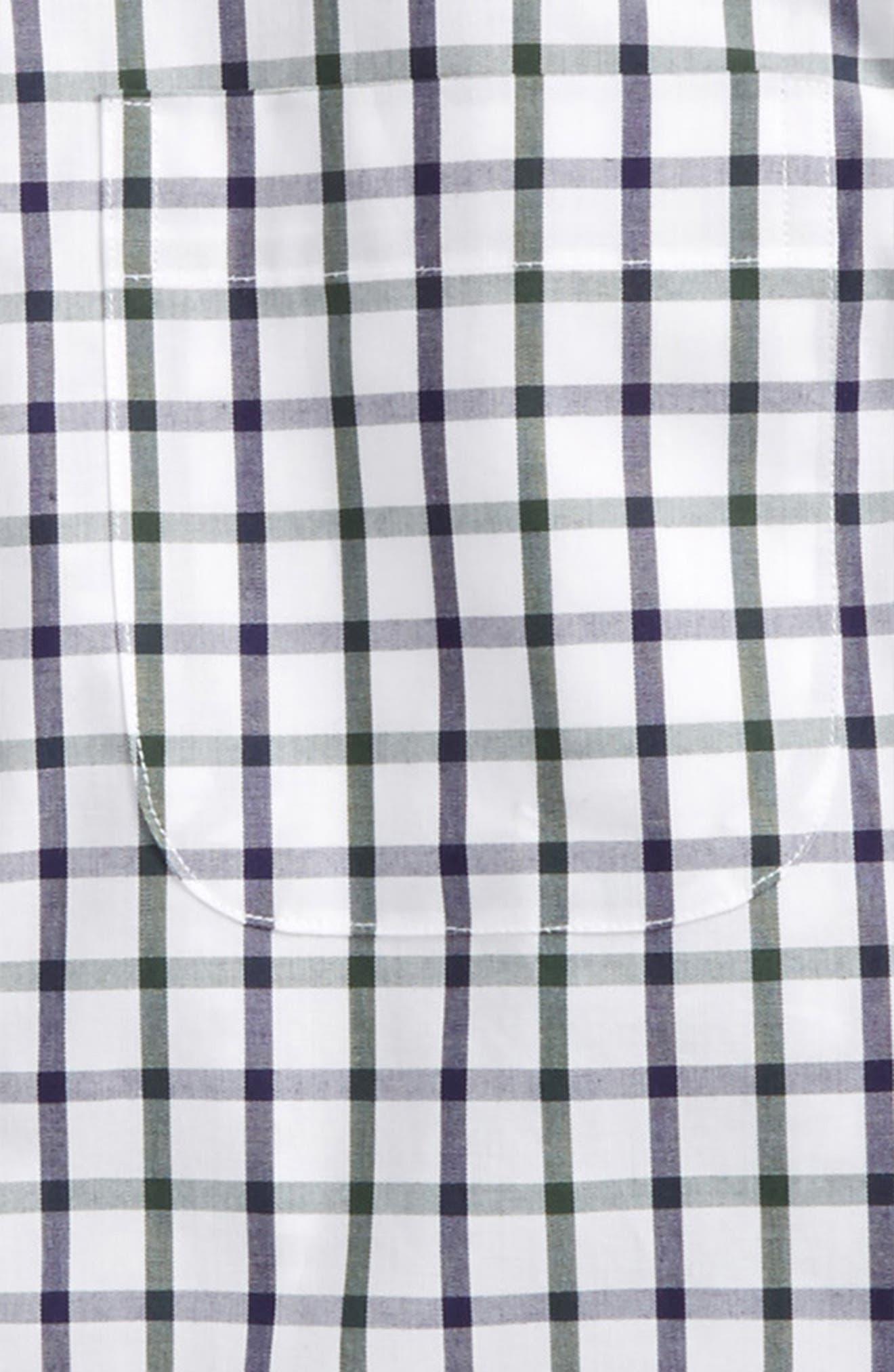 Alternate Image 2  - Nordstrom Windowpane Plaid Dress Shirt (Toddler Boys & Little Boys)