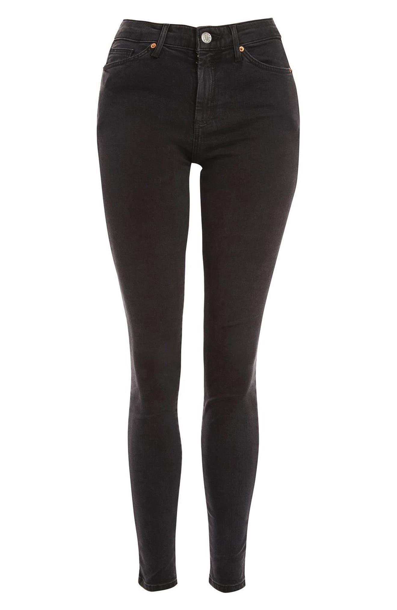 Alternate Image 4  - Topshop Sidney Skinny Jeans