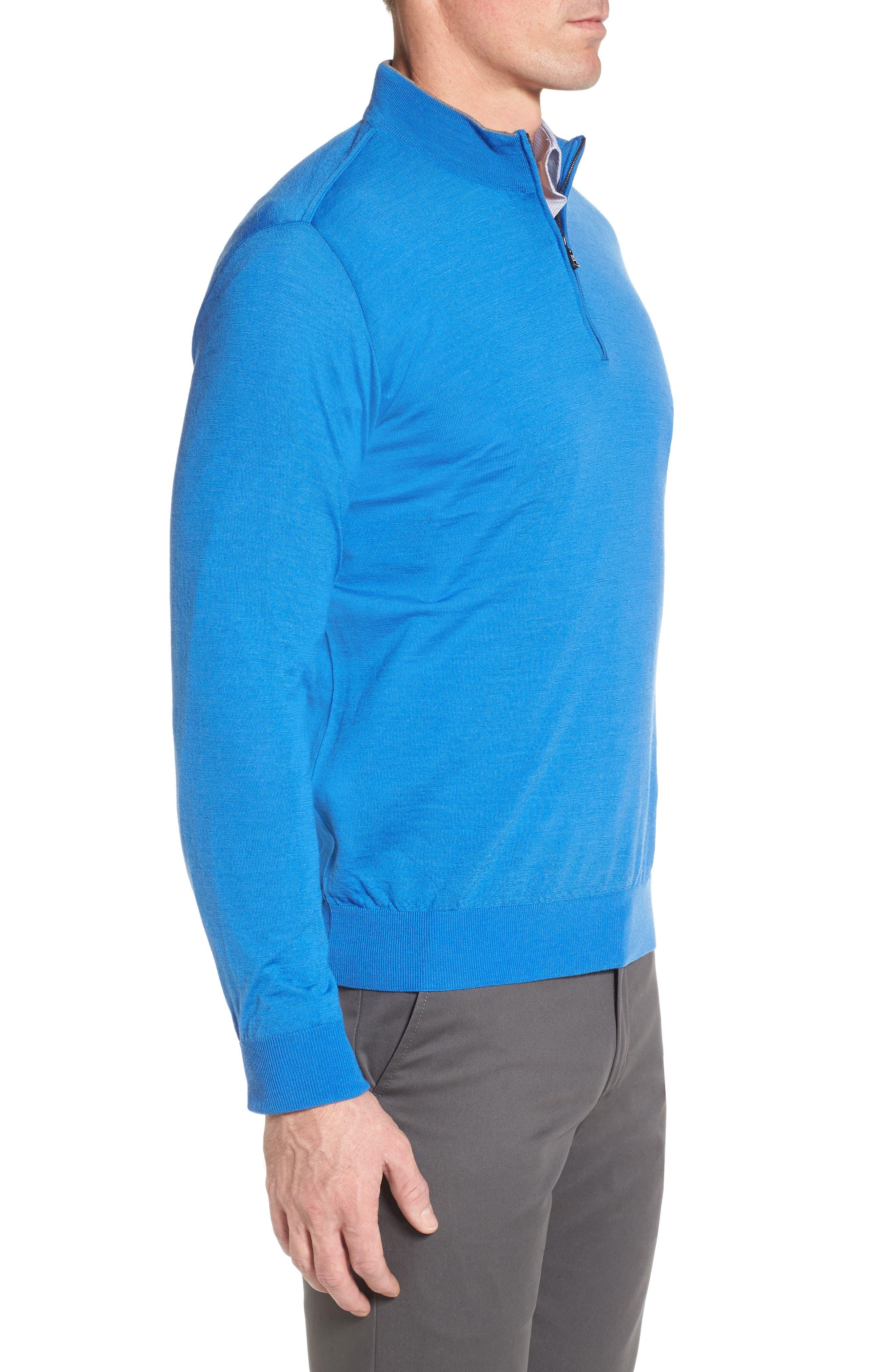 Alternate Image 3  - Paul & Shark Quarter Zip Wool Pullover