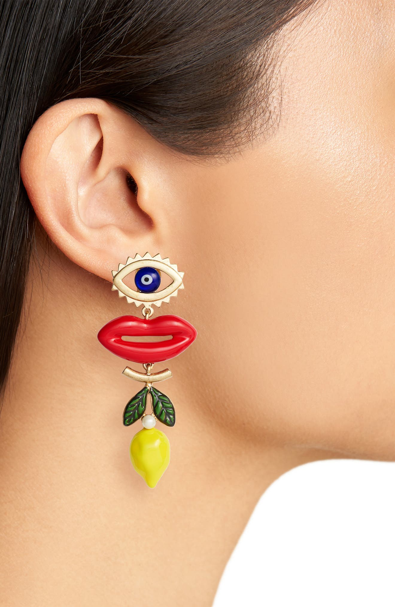 Alternate Image 2  - Tory Burch Tassel Drop Earrings