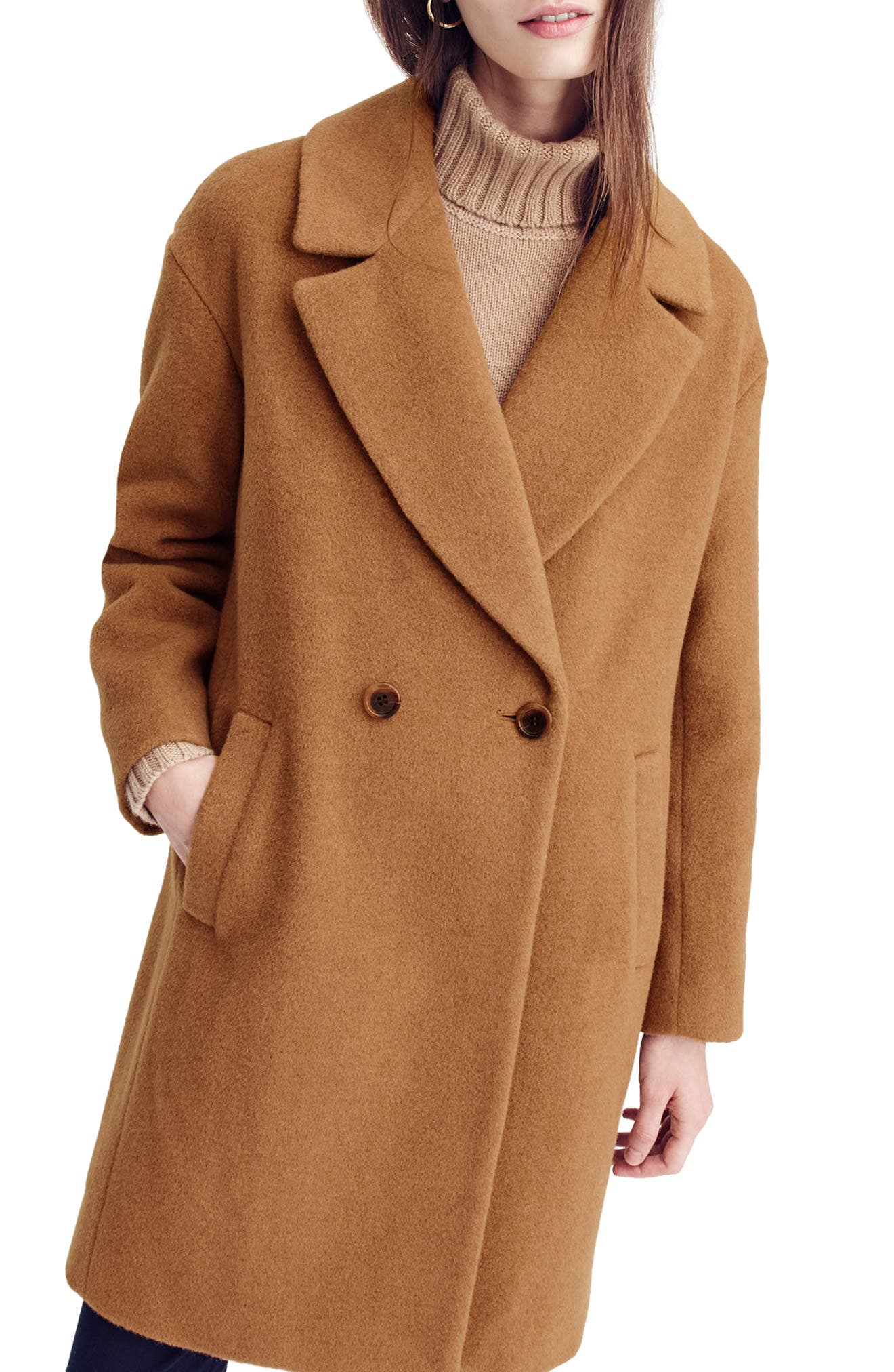 J.Crew Maxine Camel Hair Coat
