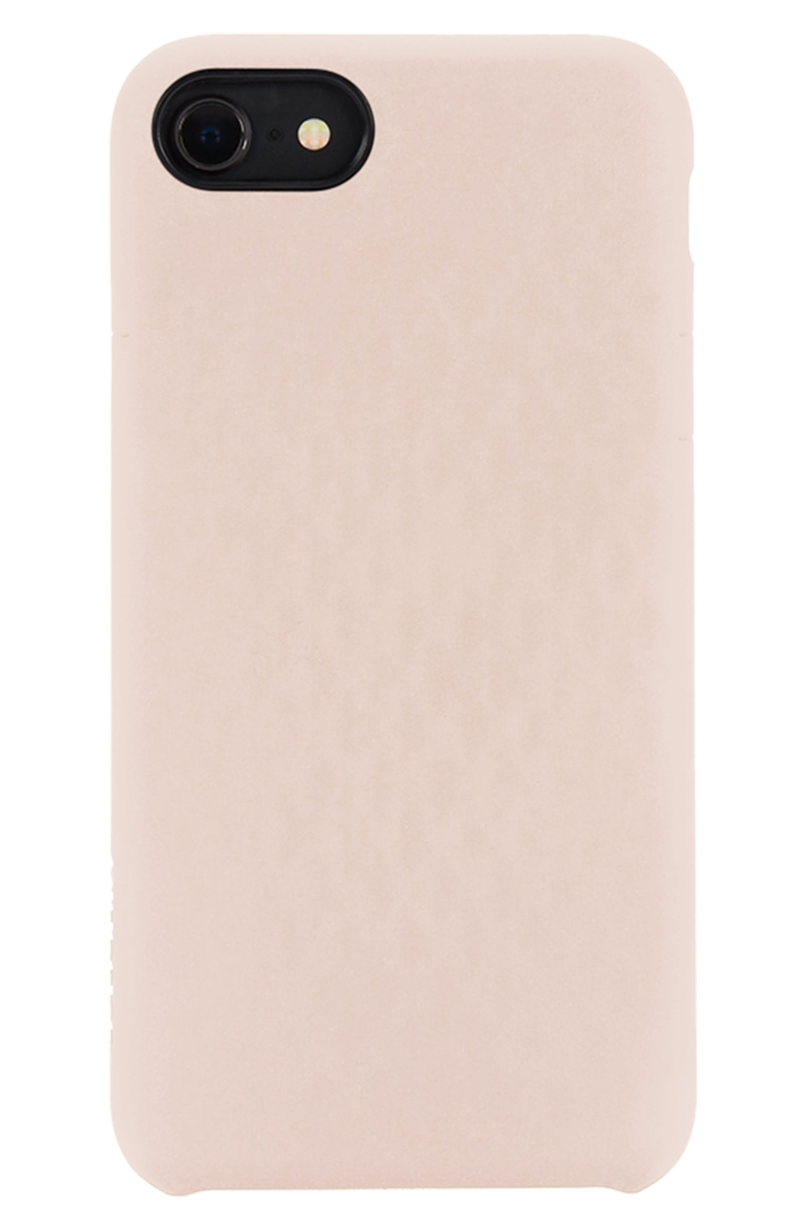 Facet iPhone 7/8 Case,                         Main,                         color, Rose Gold
