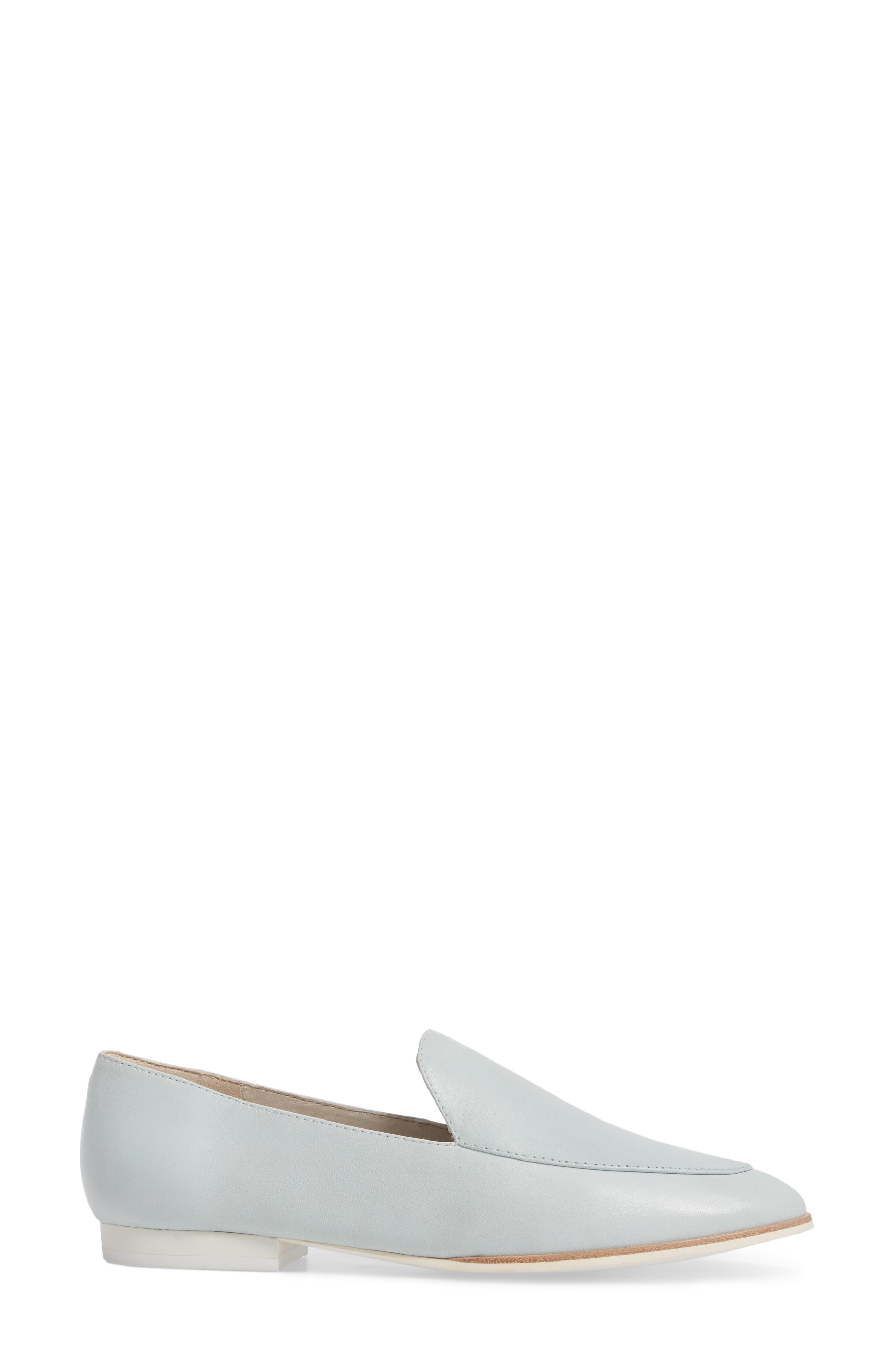 Westley Welt Loafer,                             Alternate thumbnail 3, color,                             Robins Egg Leather