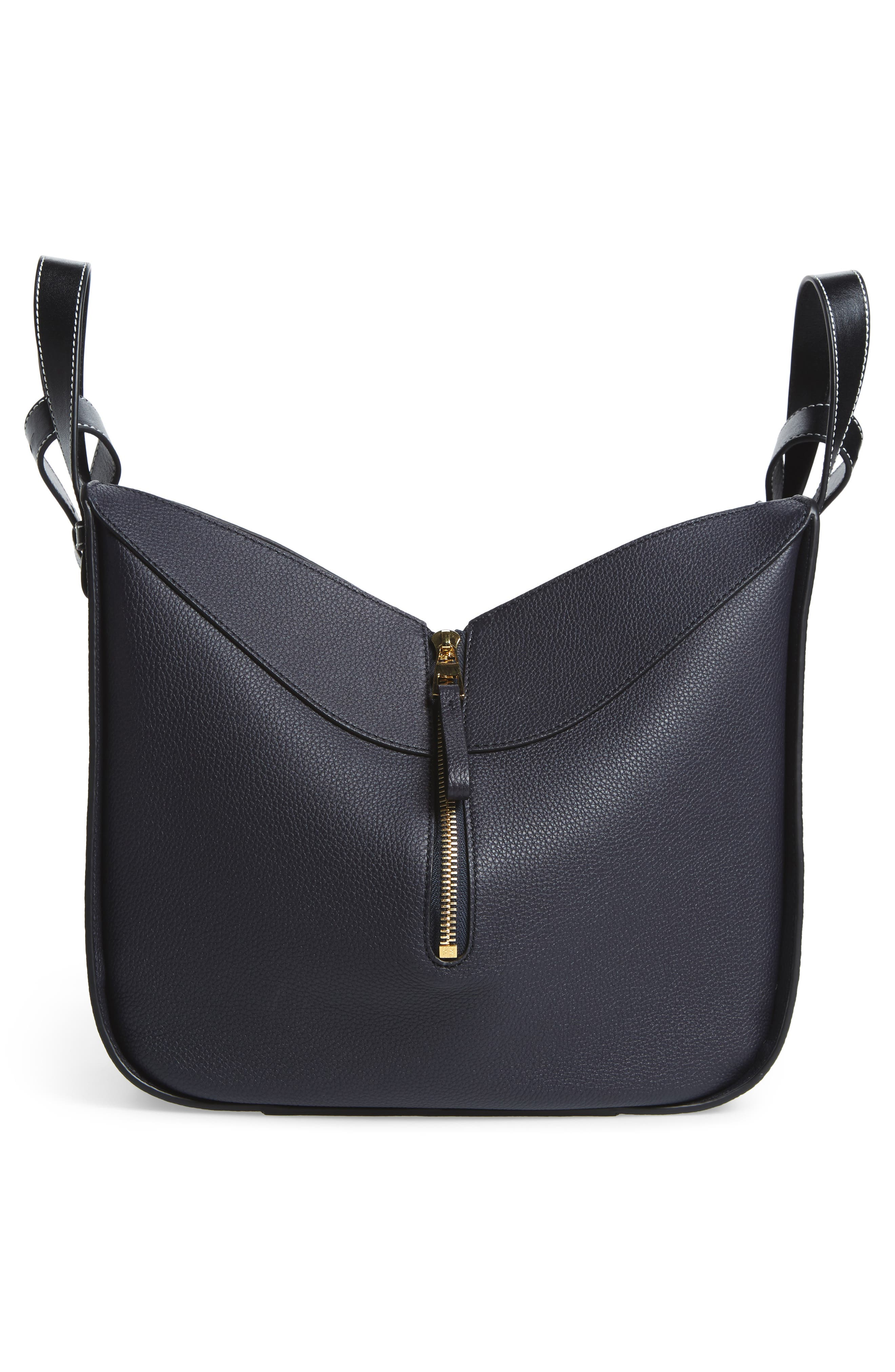 Alternate Image 4  - Loewe Small Hammock Pebbled Leather Hobo