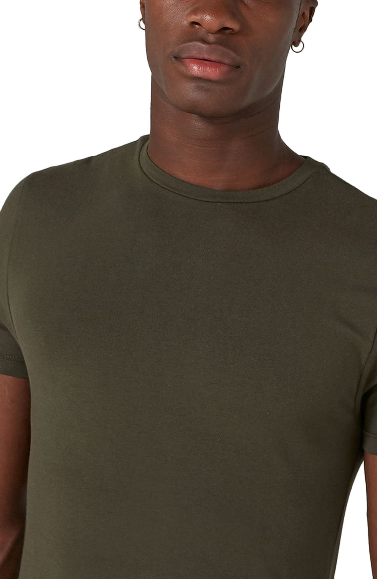 Ultra Muscle Fit T-Shirt,                             Alternate thumbnail 3, color,                             Olive