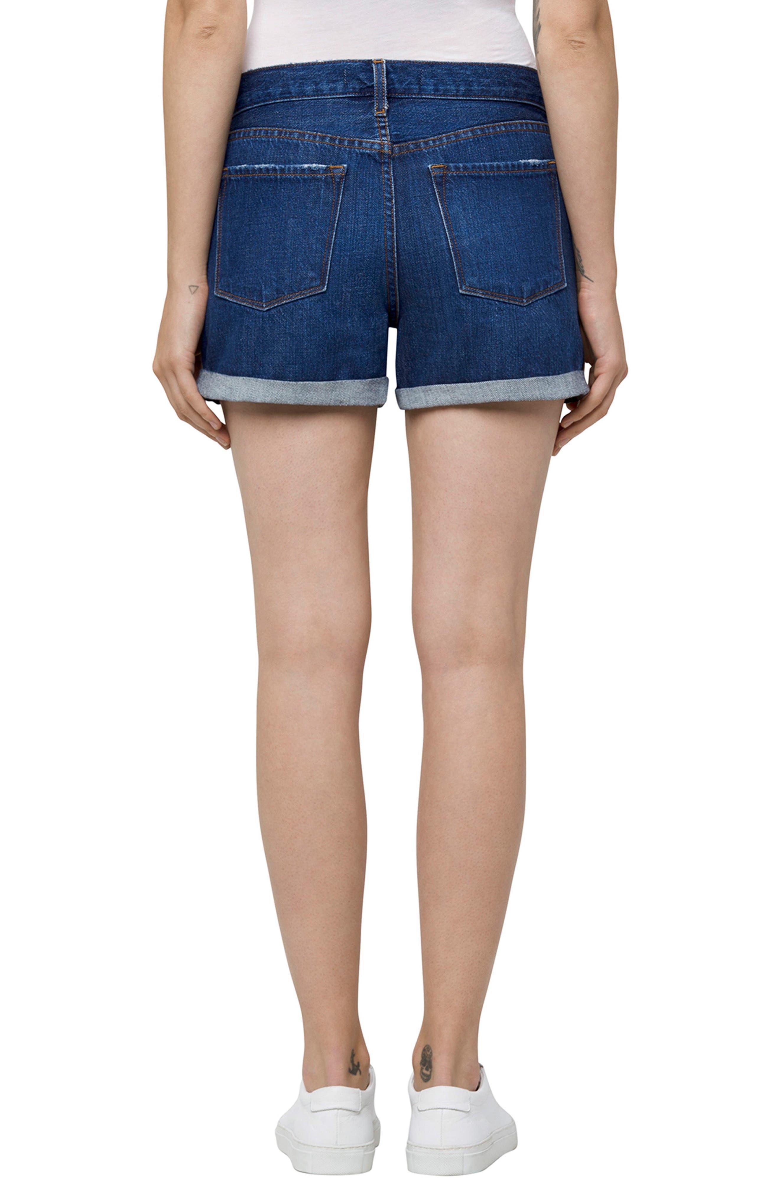 Alternate Image 2  - J Brand Johnny Denim Shorts (Doubletake)