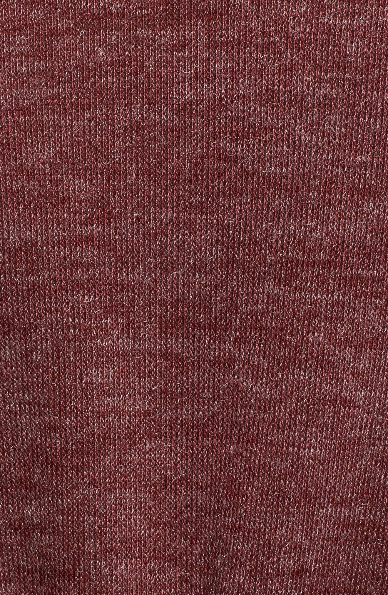 Cowl Neck Dress,                             Alternate thumbnail 5, color,                             Wine