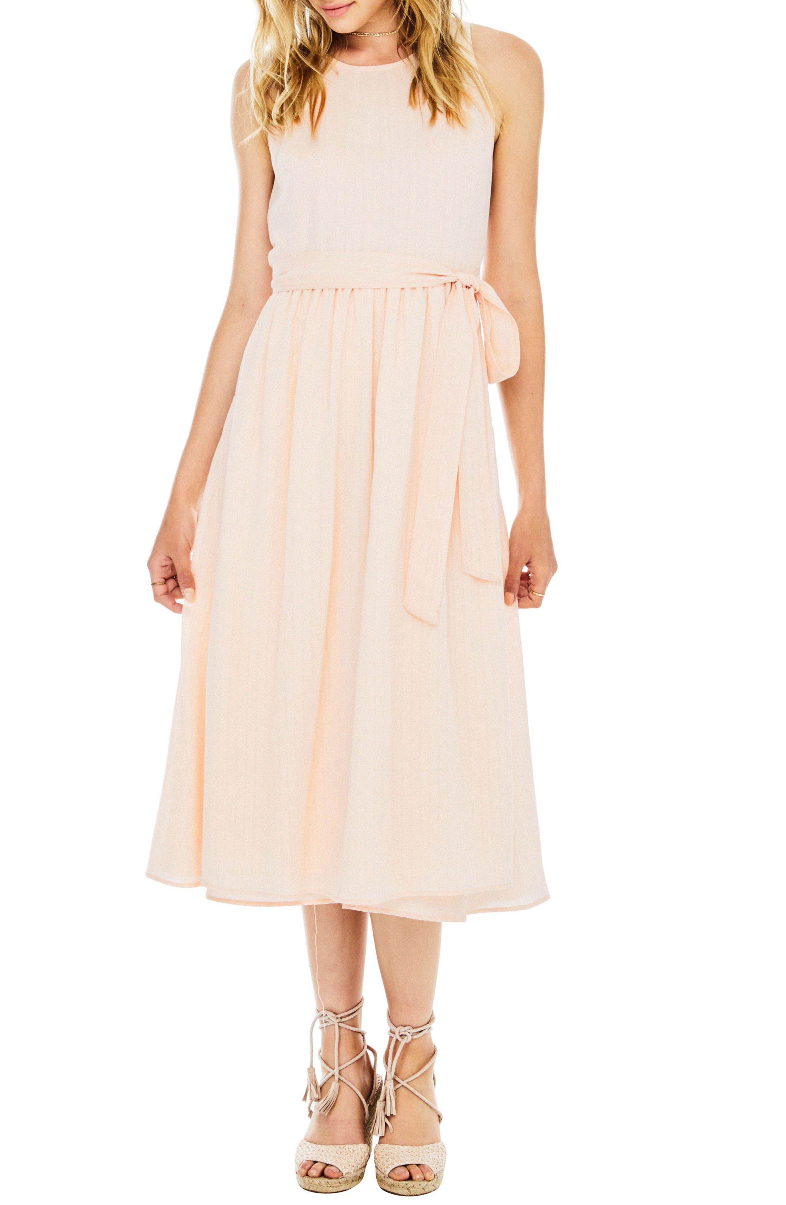 Brady Dress,                         Main,                         color, Powder Pink