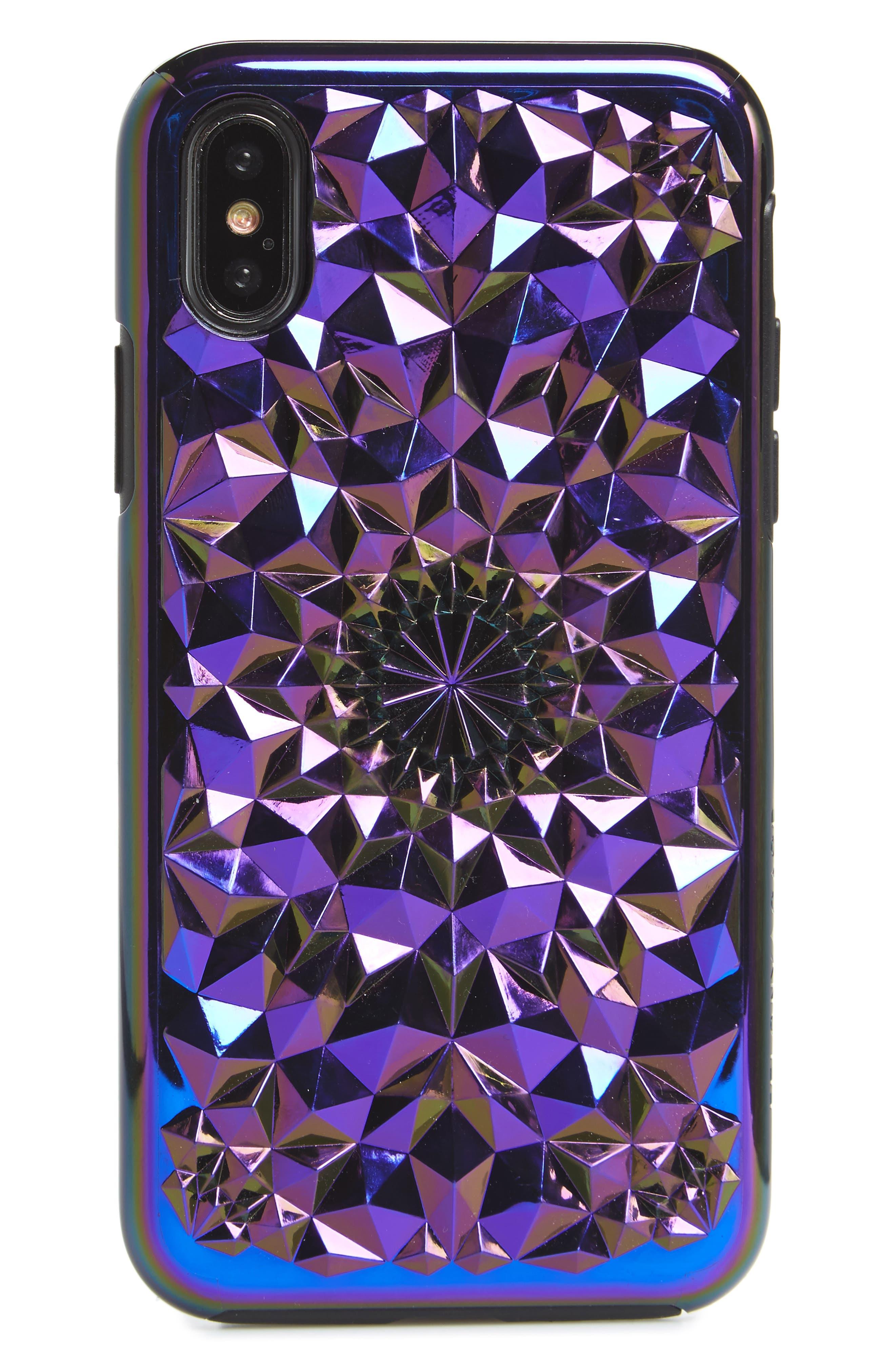 Cosmic Kaleidoscope iPhone X Case,                             Main thumbnail 1, color,                             Multi