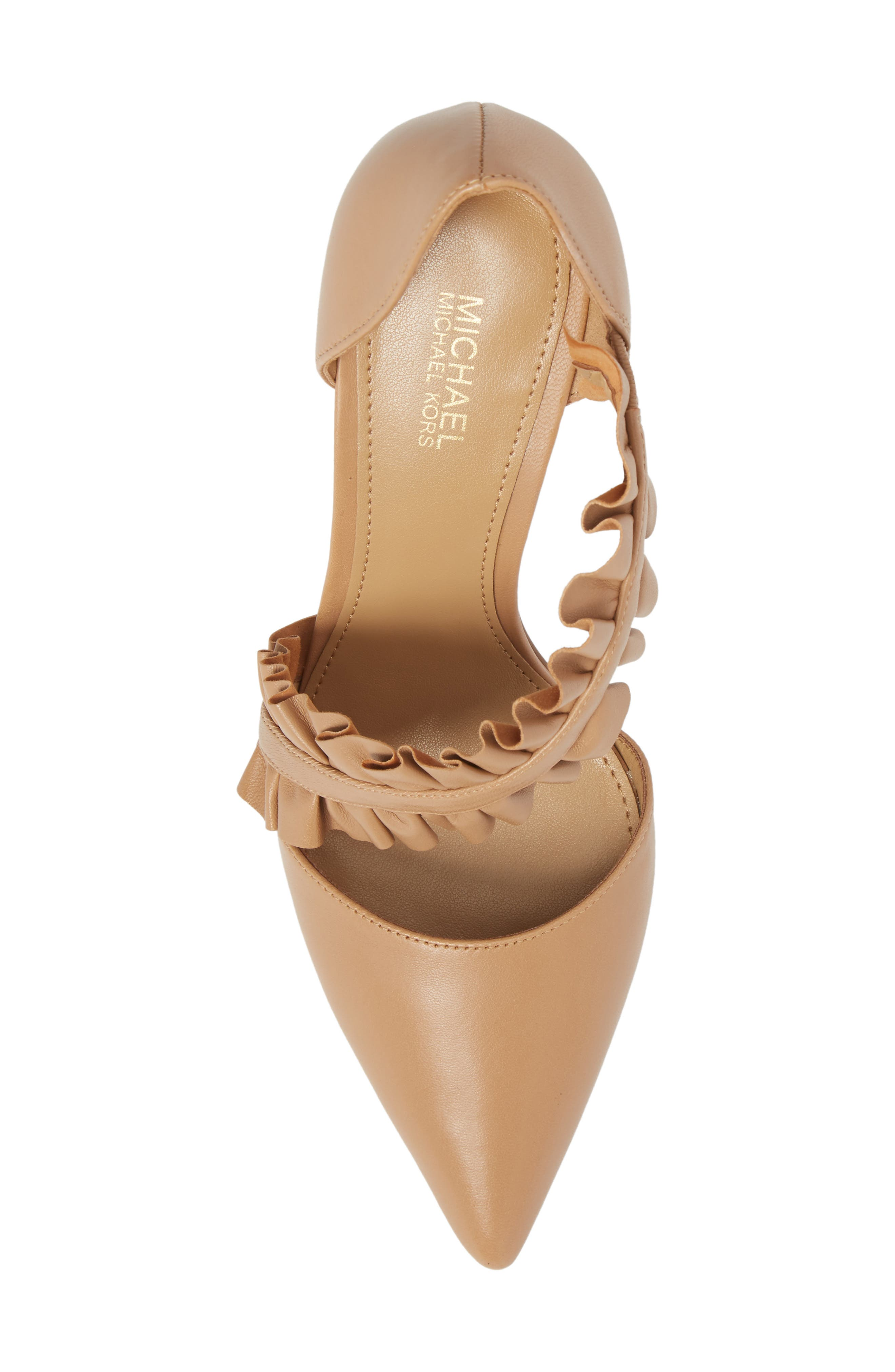 Alternate Image 5  - MICHAEL Michael Kors Bella Ruffle Pump (Women)