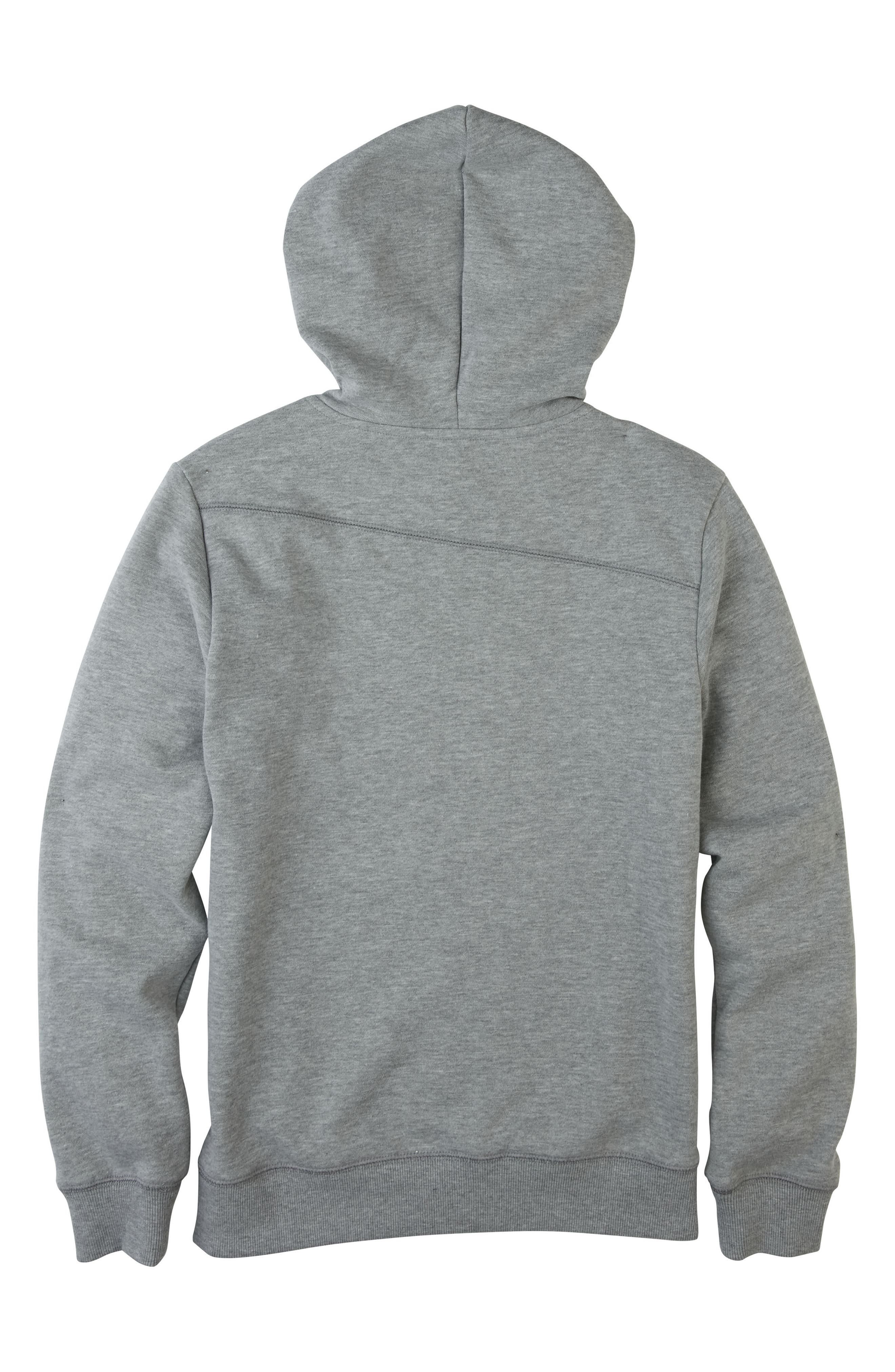 Alternate Image 2  - Volcom Stone Fleece Hoodie (Big Boys)