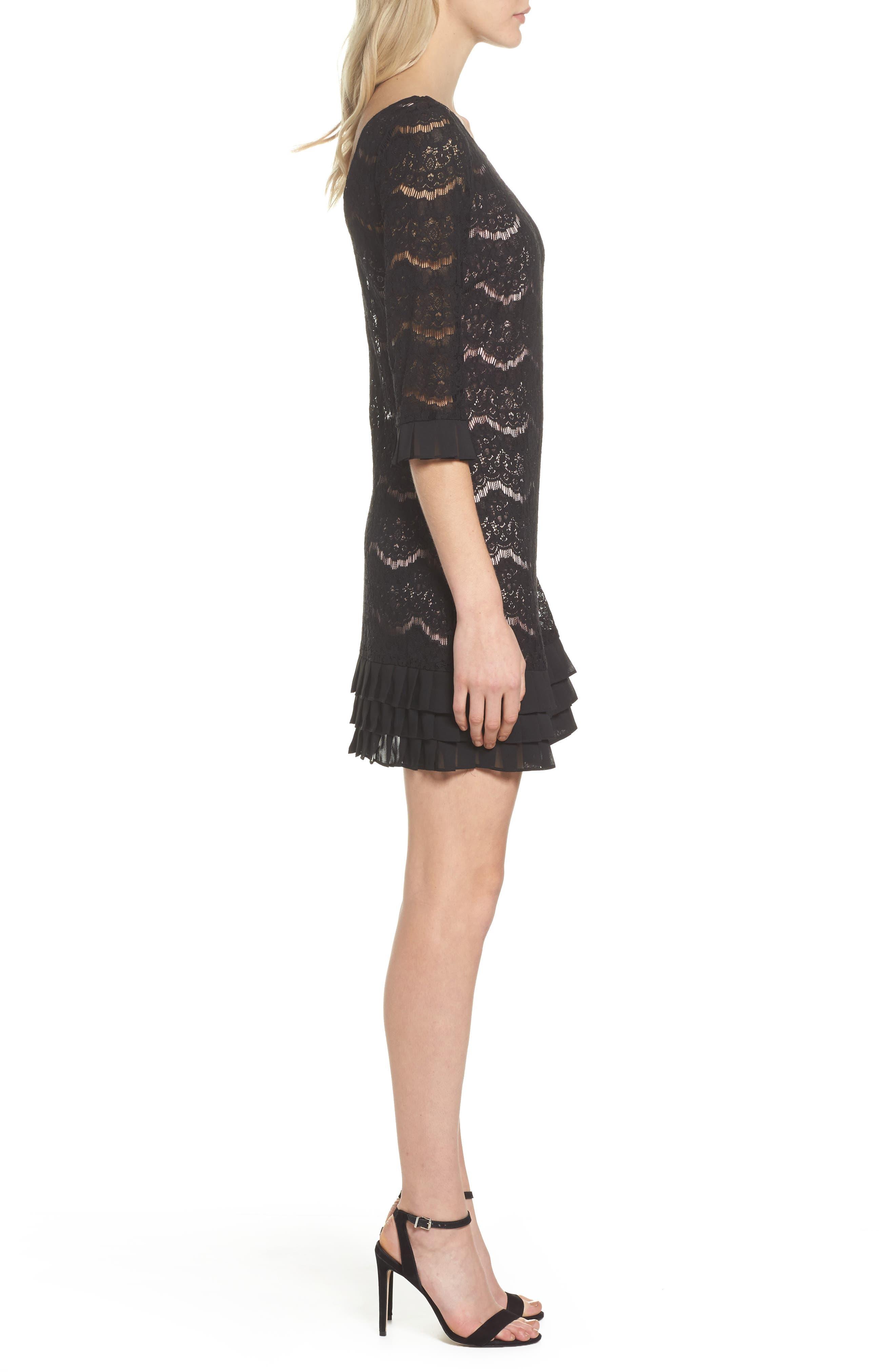Alternate Image 3  - Julia Jordan Lace Shift Dress