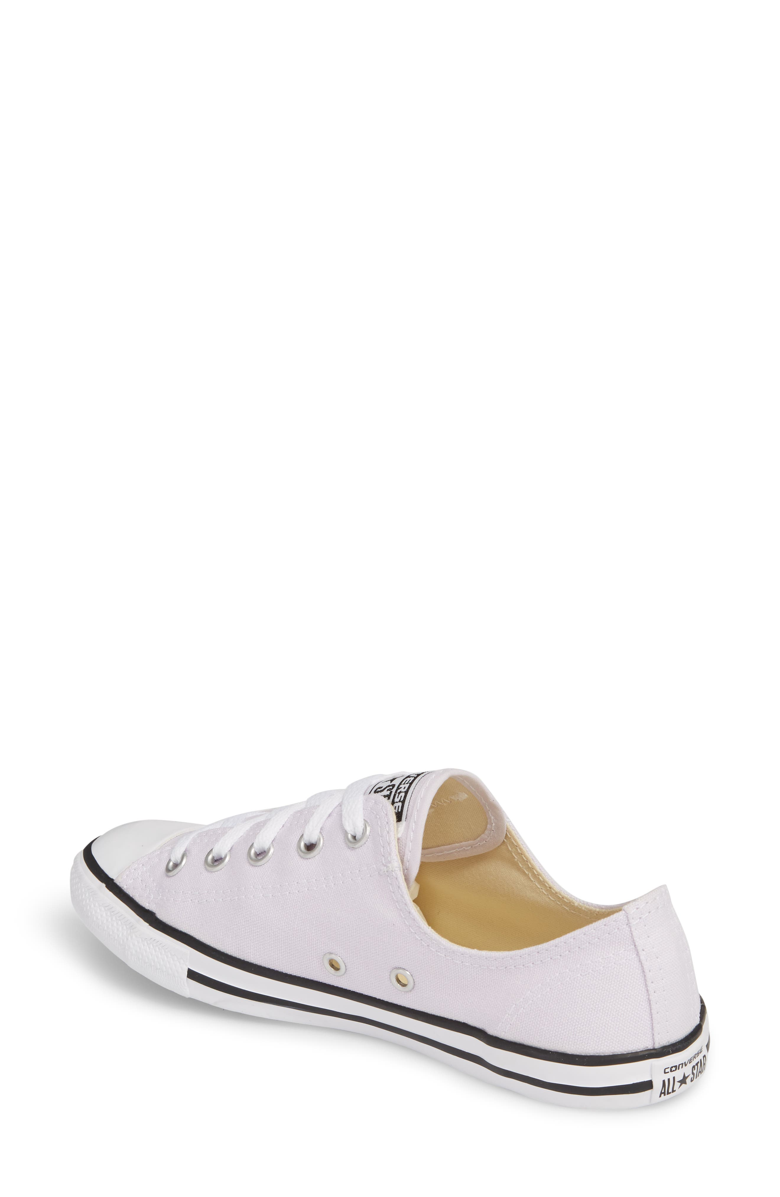 Alternate Image 2  - Converse Chuck Taylor® All Star® Dainty Ox Low Top Sneaker (Women)