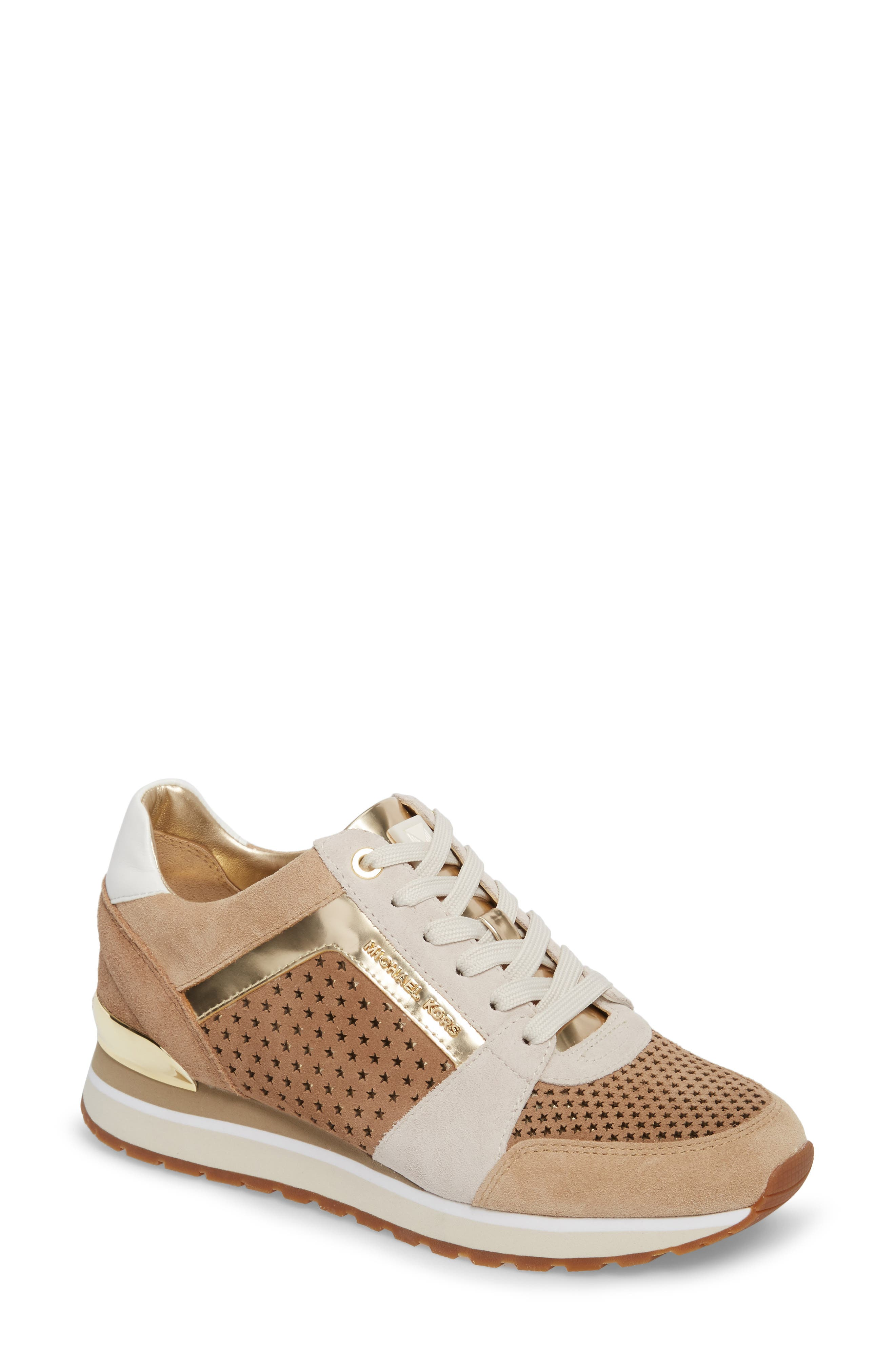 MICHAEL Michael Kors Billie Perforated Sneaker (Women)