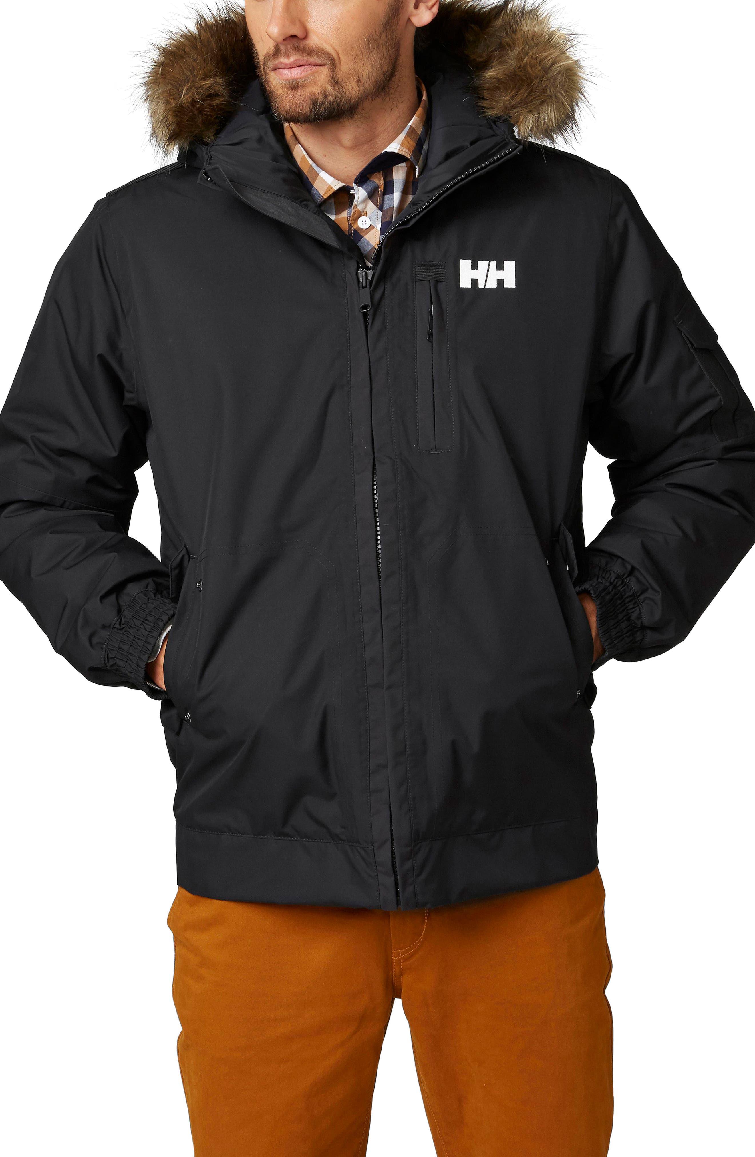 Dubliner Waterproof Down Jacket,                         Main,                         color, Black