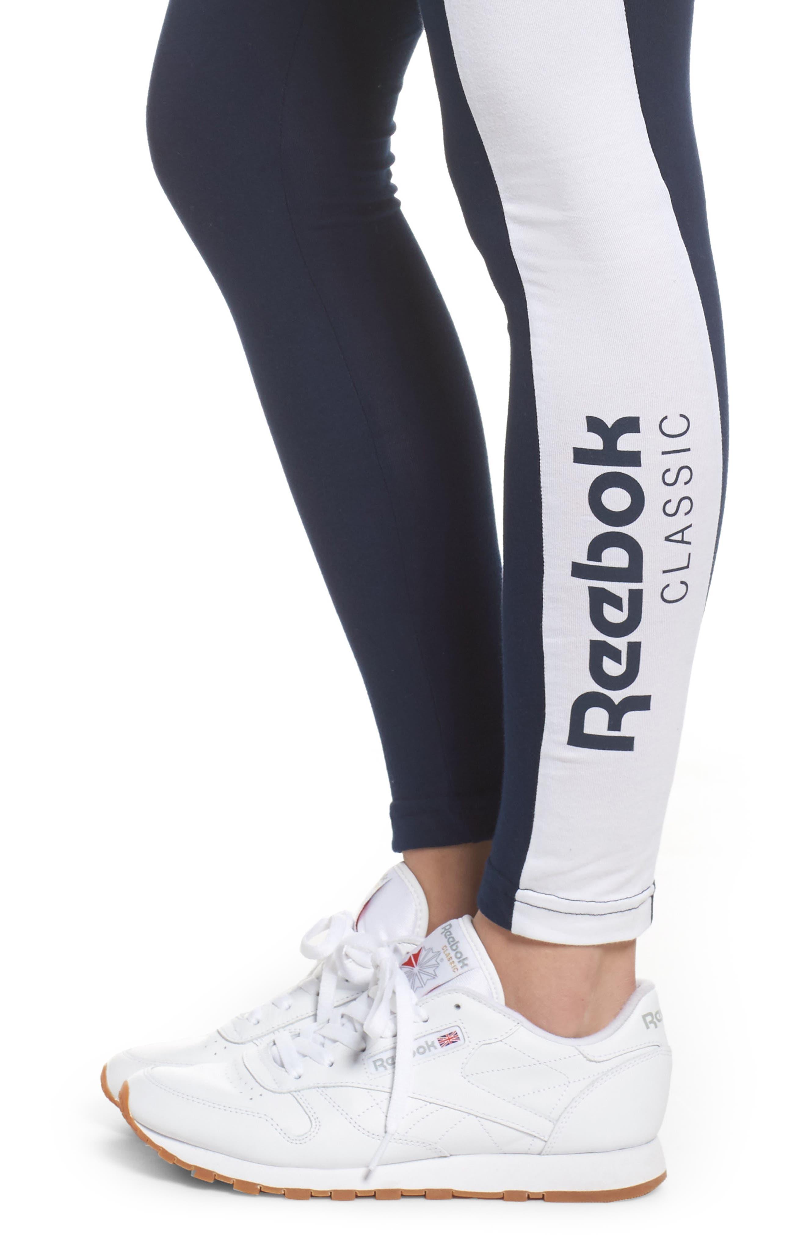 Alternate Image 4  - Reebok Classics Leggings