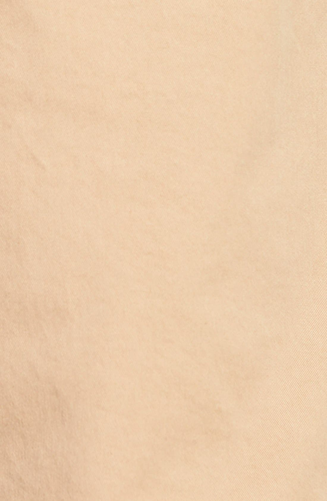 'Penrose' Flat Front Shorts,                             Alternate thumbnail 3, color,                             Camel