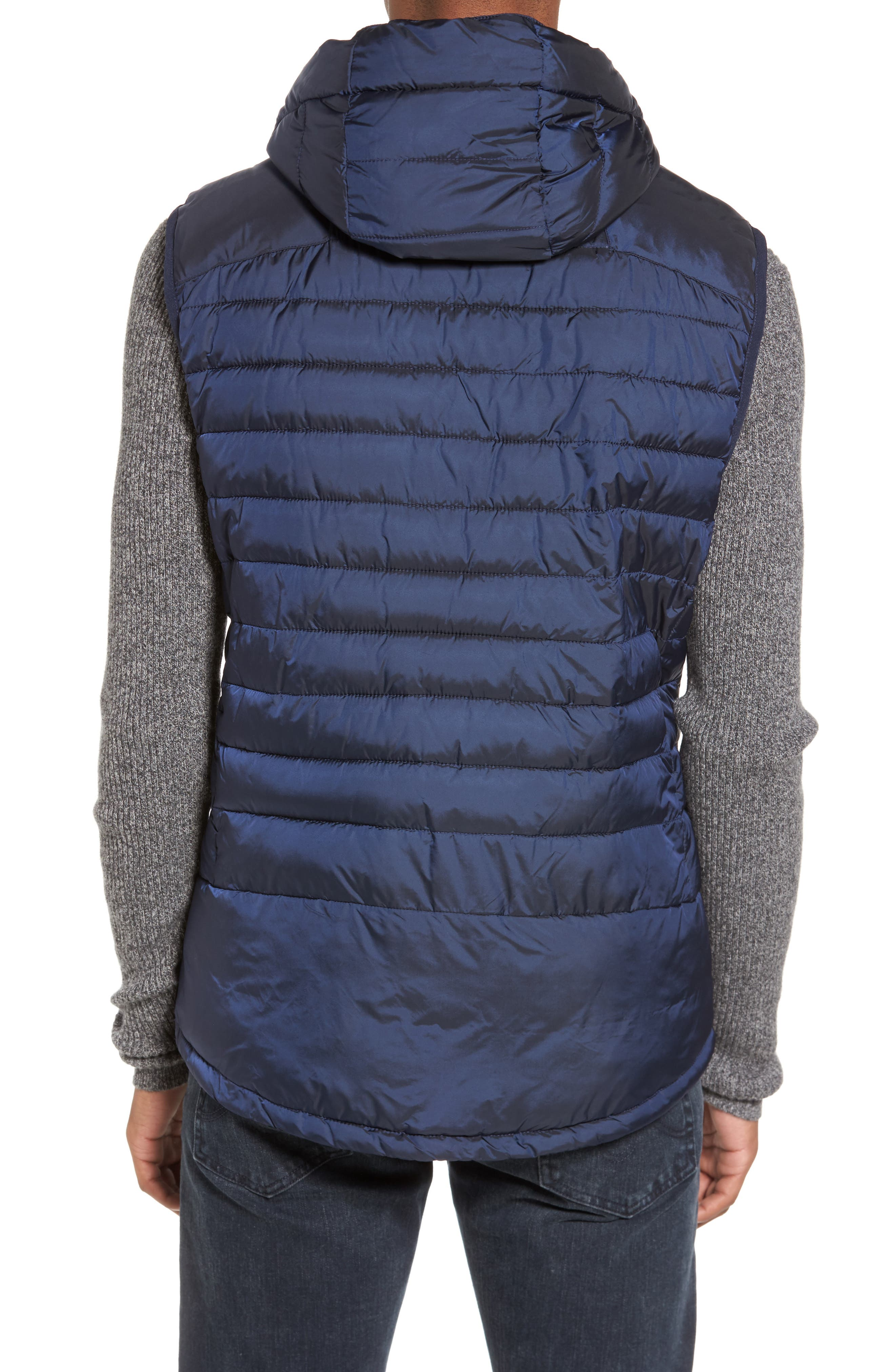 Quilted Vest,                             Alternate thumbnail 2, color,                             Night