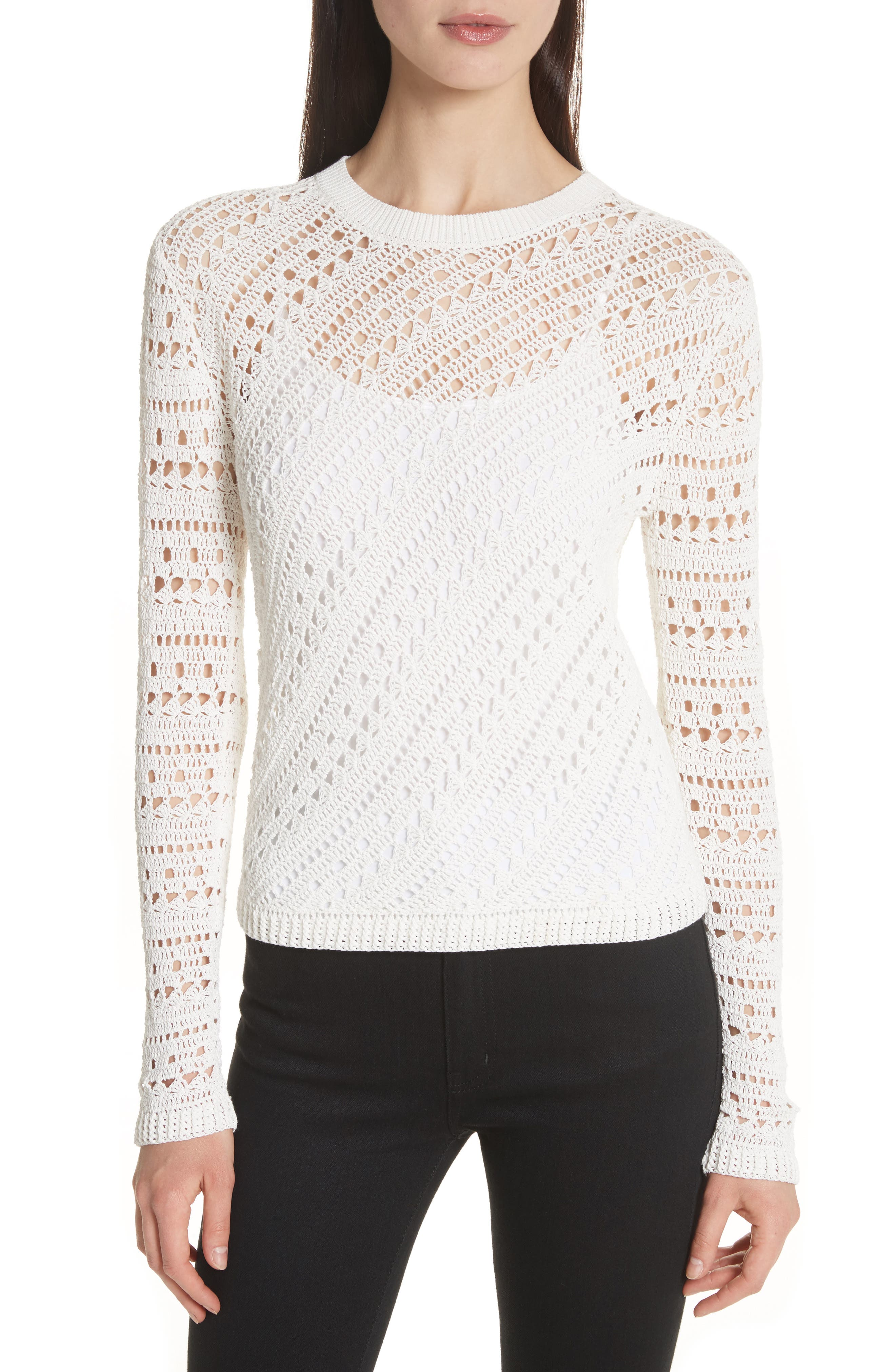Theory Woman Cotton-blend Sweater Pink Size L Theory Discount Free Shipping Choice Cheap Price Sale Amazon Cheap Sale 2018 Cheap For Cheap ljsnrA