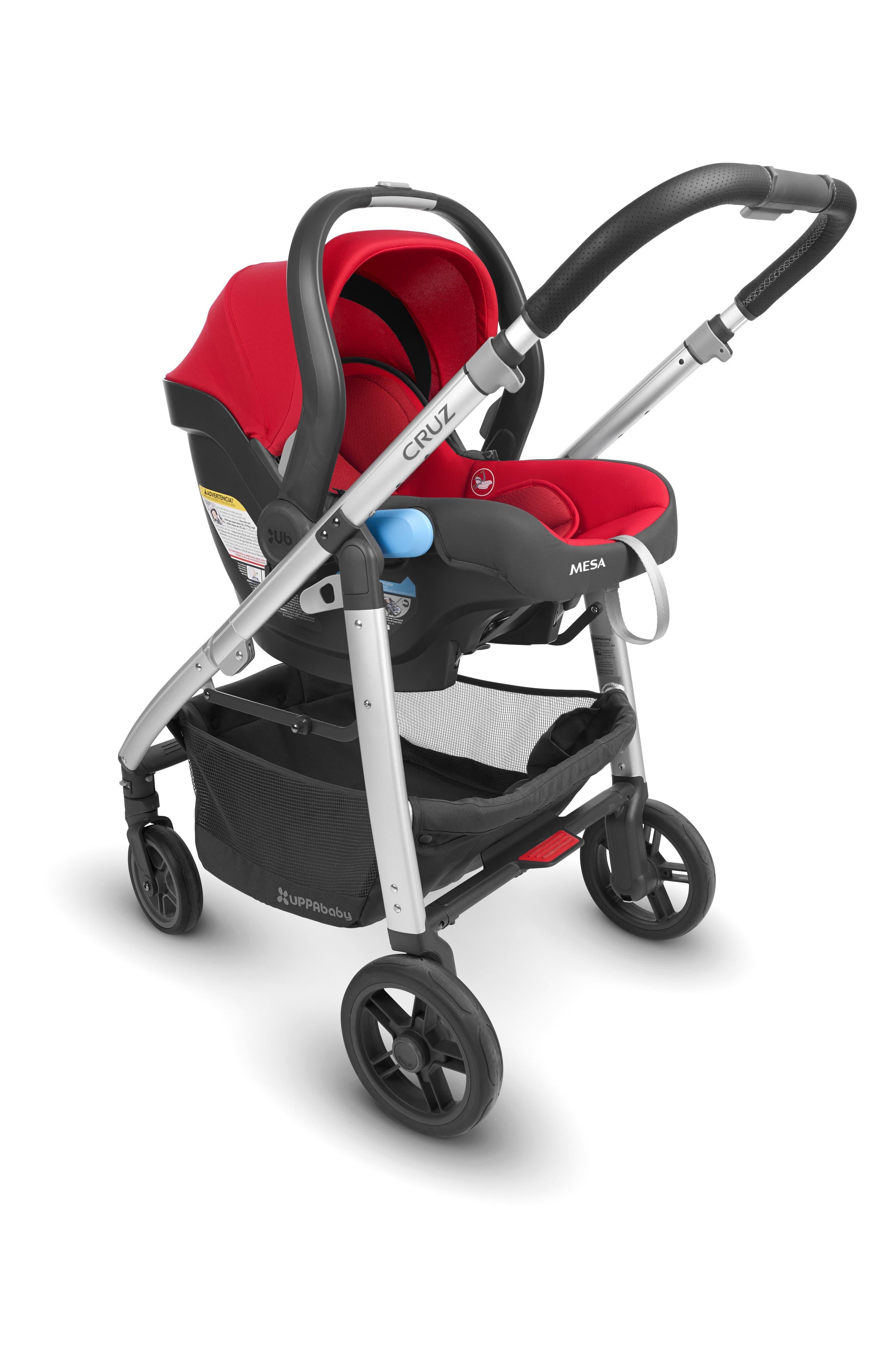 2018 MESA Infant Car Seat,                             Alternate thumbnail 5, color,                             Denny Red