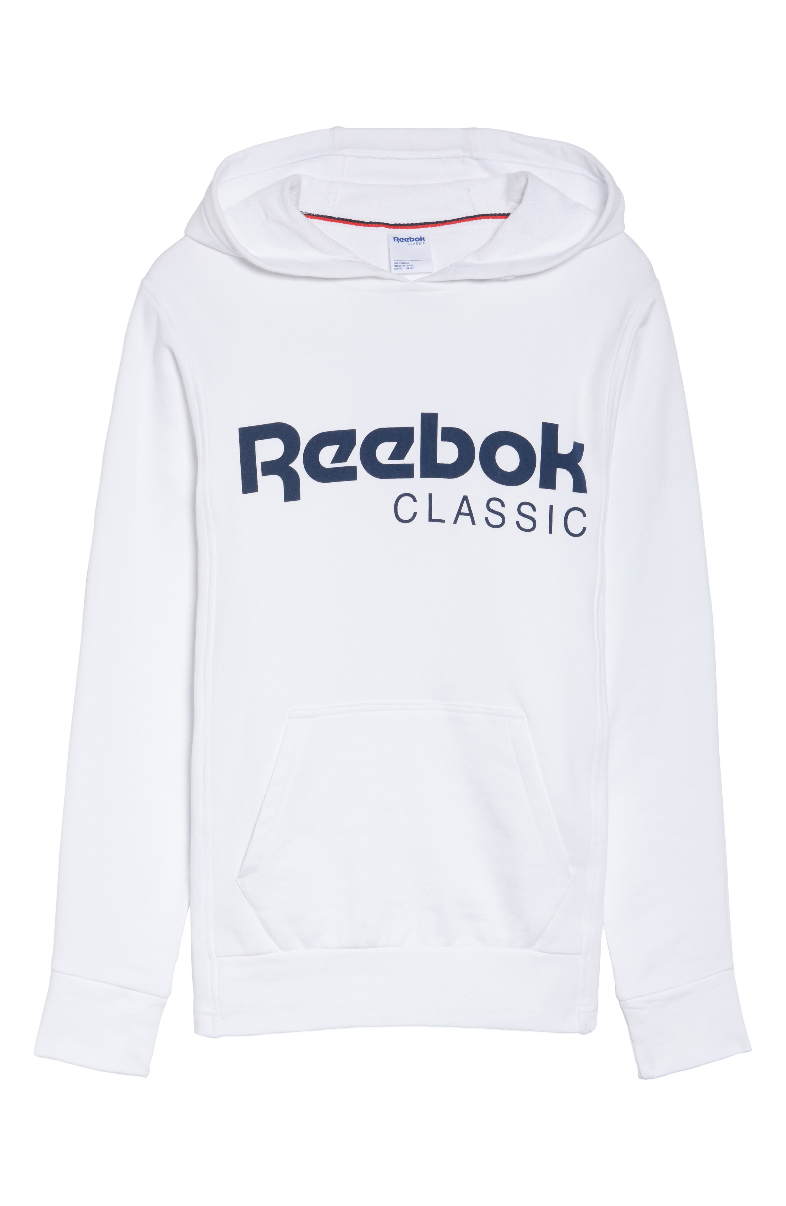 Alternate Image 7  - Reebok Foundation French Terry Hoodie